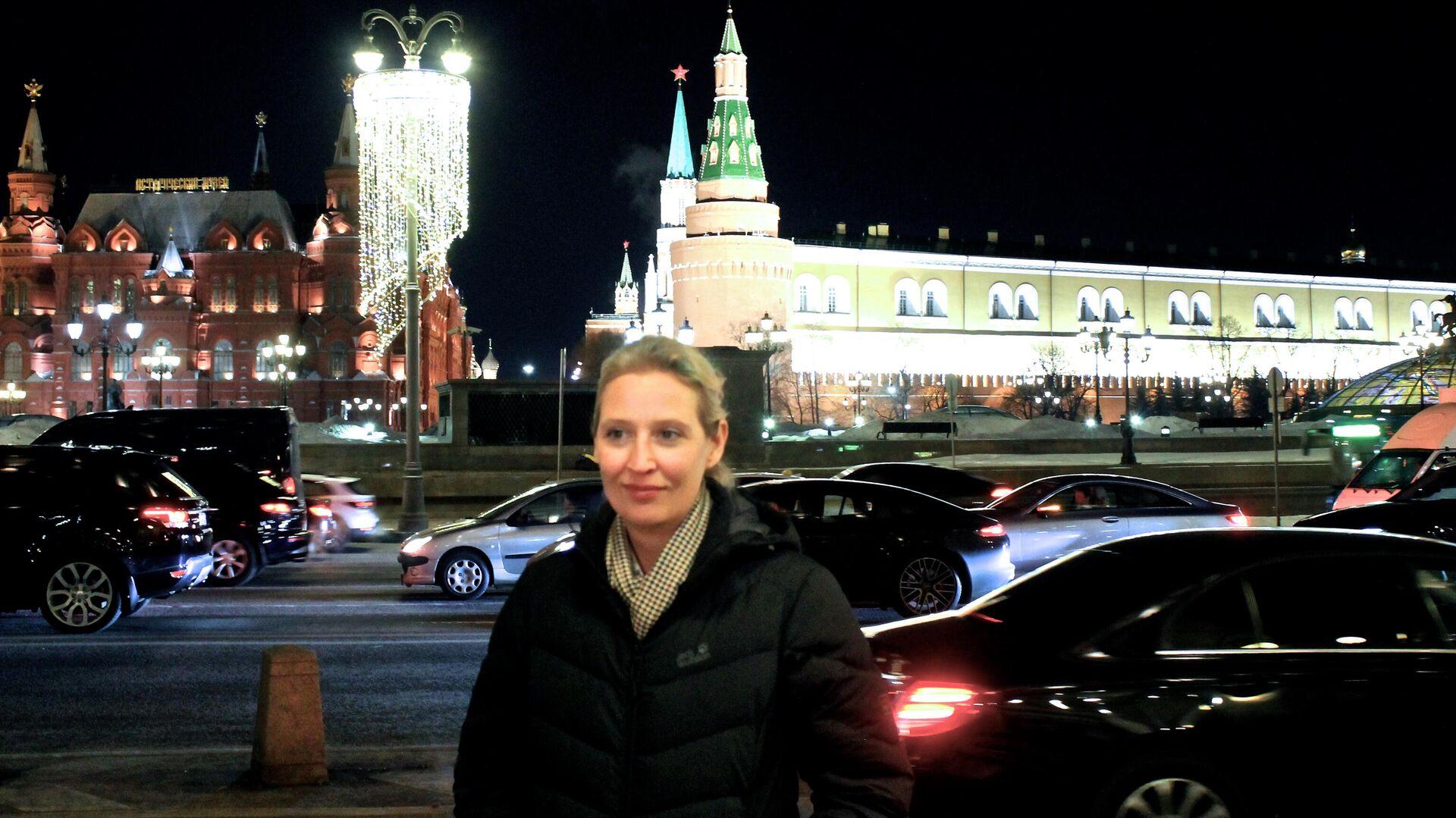 AfD-Fraktionschefin Alice Weidel in Moskau - SNA, 1920, 11.03.2021