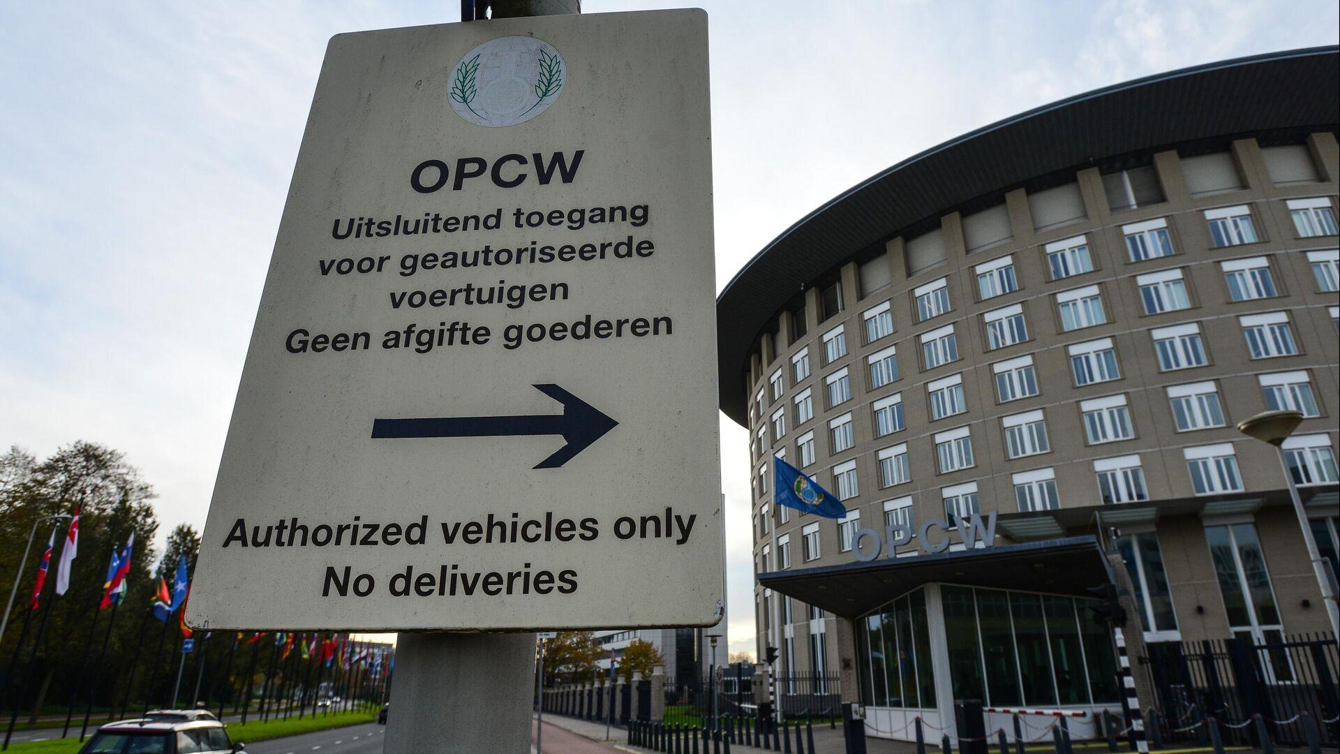 Organisation für das Verbot chemischer Waffen (OPCW) - SNA, 1920, 09.07.2021