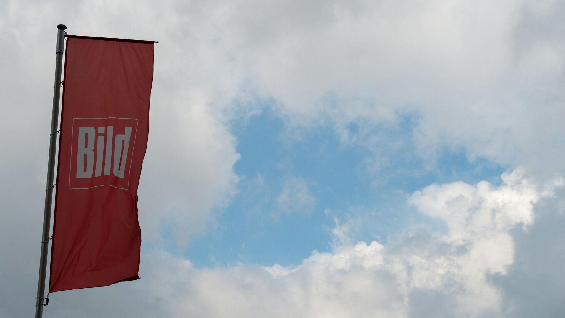 Flaggge mit Logo der Bild-Zeitung - SNA, 1920, 12.03.2021