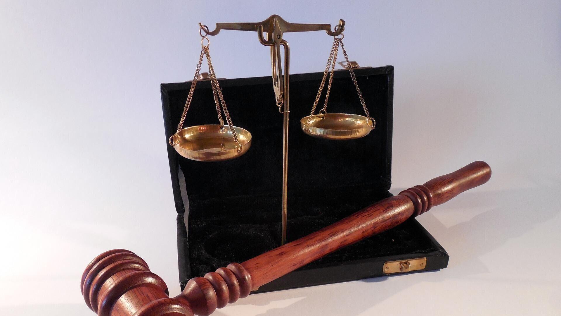 Justiz (Symbolbild) - SNA, 1920, 12.10.2021