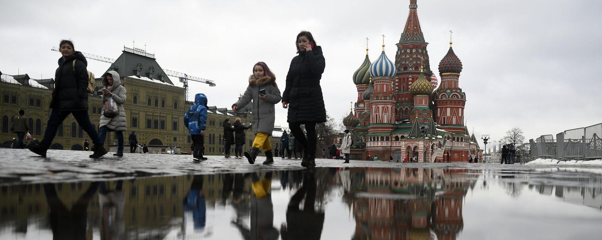 Der Rote Platz in Moskau - SNA, 1920, 15.03.2021