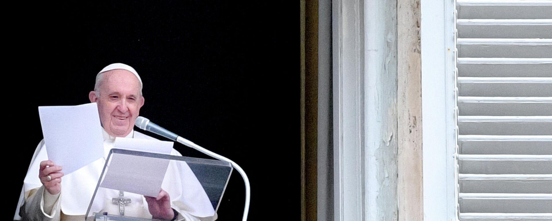 Papst Franziskus - SNA, 1920, 16.03.2021