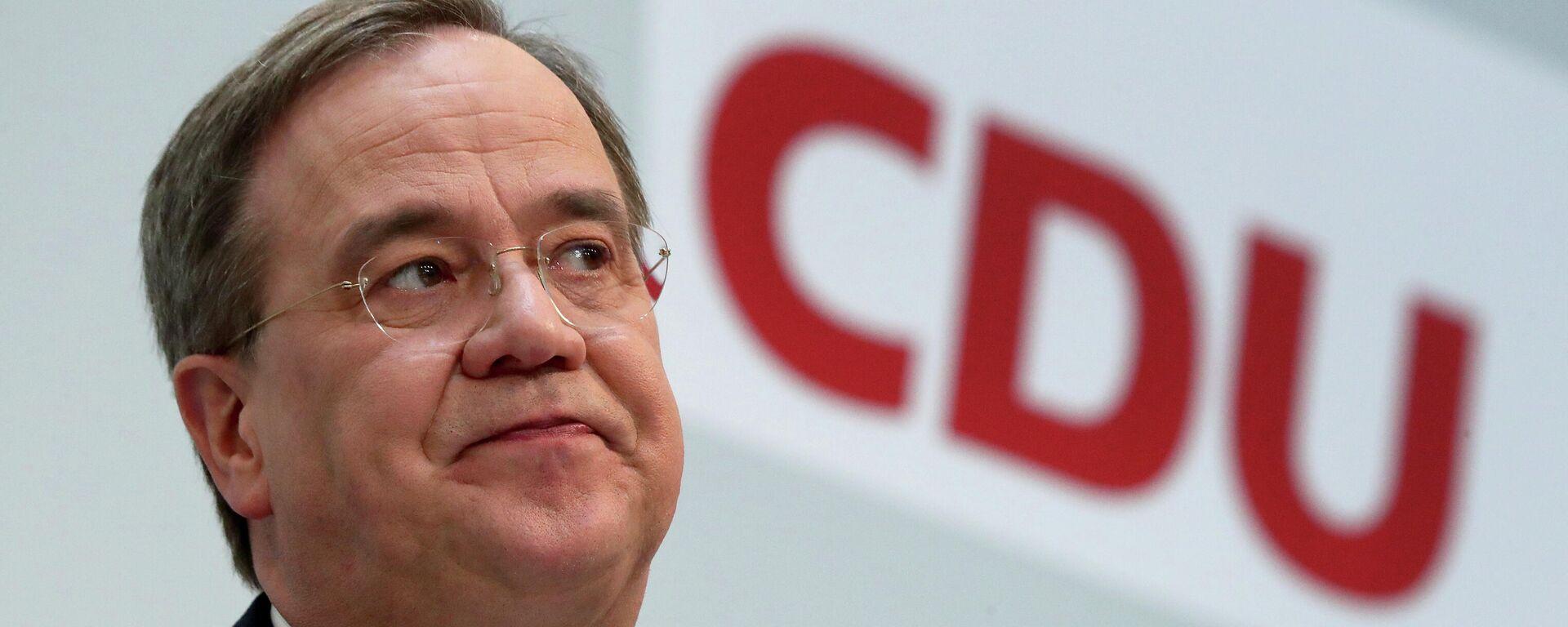 CDU-Parteichef Armin Laschet - SNA, 1920, 30.03.2021