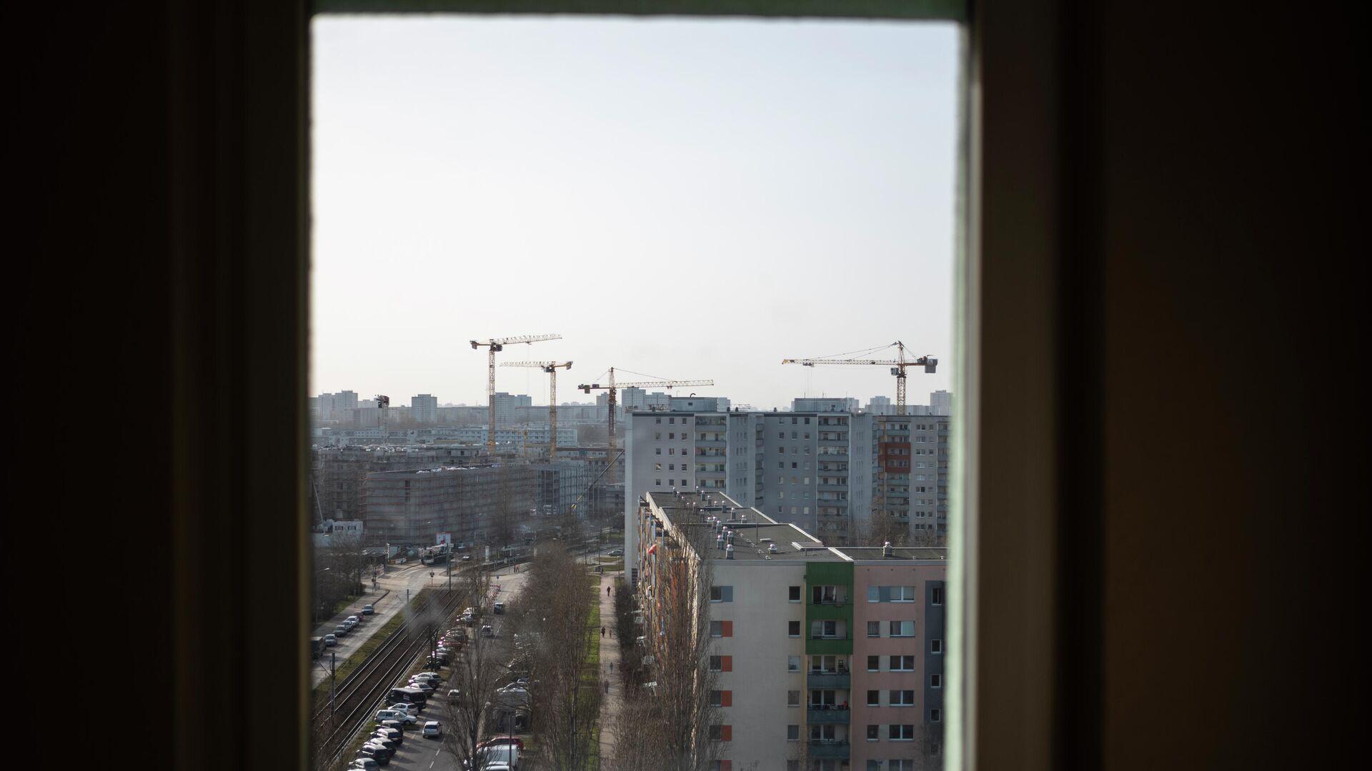 Blick aus dem Fenster auf den Bau in Berlin (Archiv) - SNA, 1920, 08.07.2021