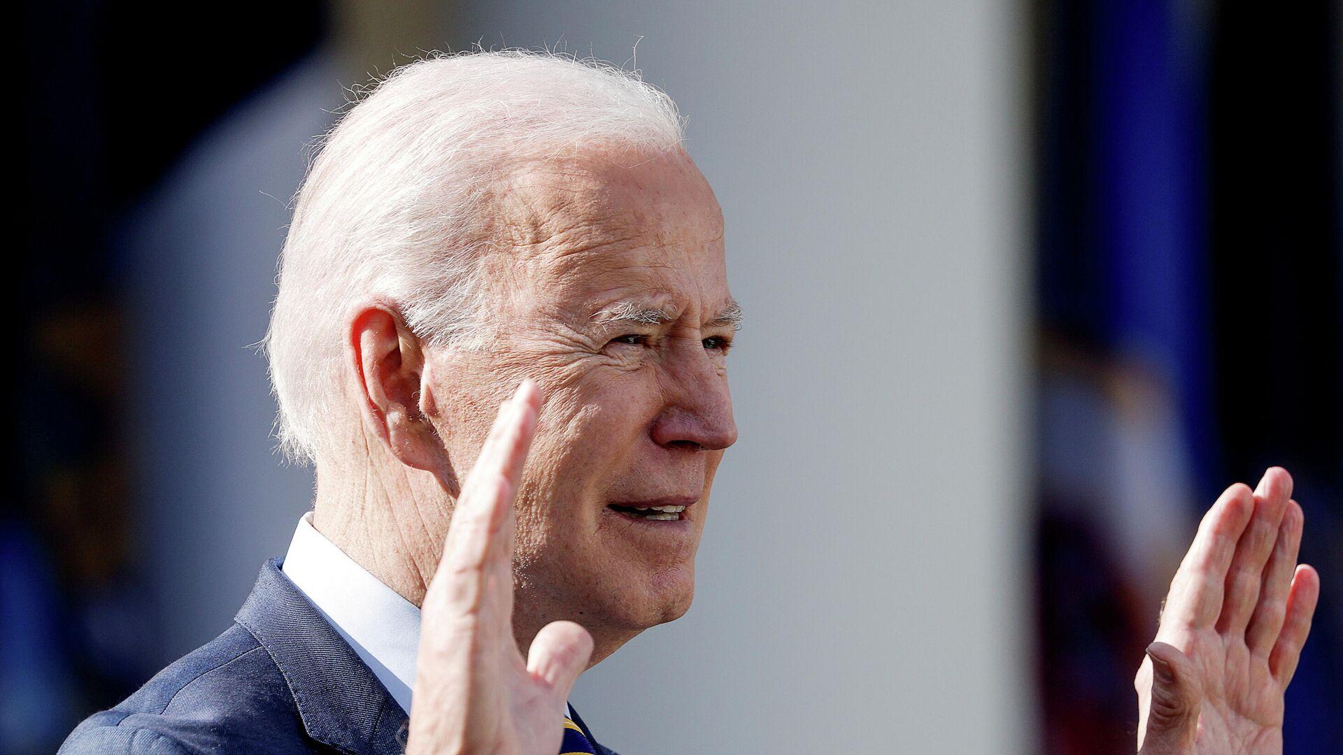 US-Präsident Joe Biden - SNA, 1920, 17.03.2021