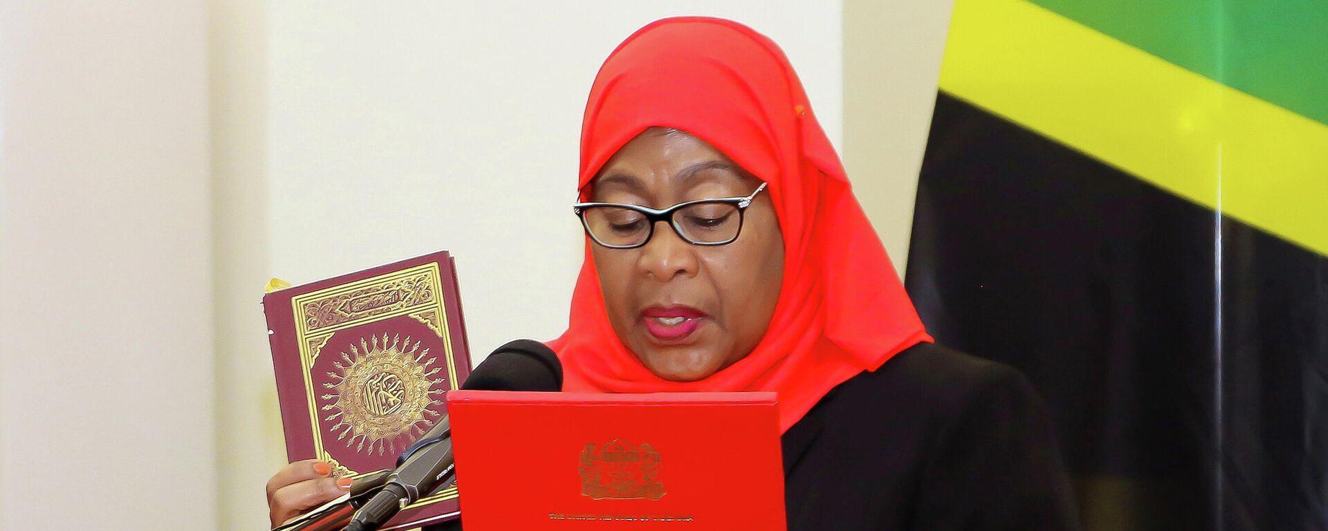Amtseintritt von Samia Suluhu Hassan, 19. März 2021 - SNA, 1920, 19.03.2021