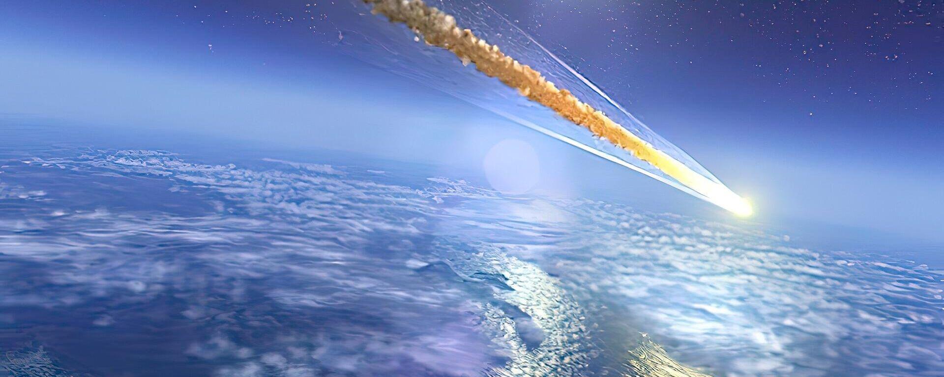 Meteorit (Symbolbild) - SNA, 1920, 20.03.2021