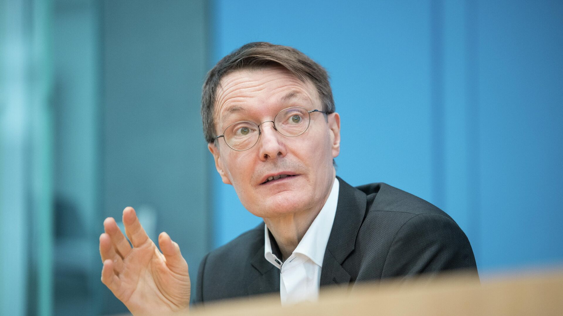SPD-Politiker Karl Lauterbach - SNA, 1920, 31.03.2021