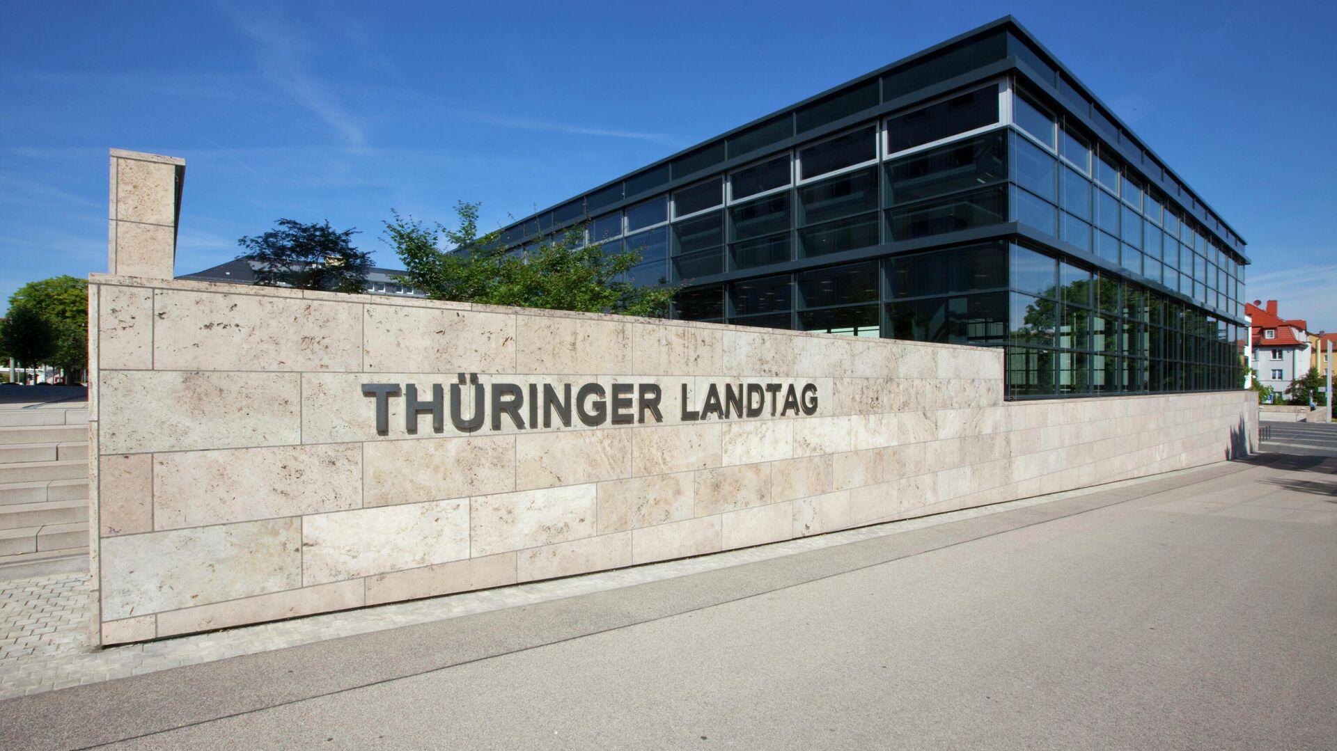 Thüringer Landtag in Erfurt - SNA, 1920, 10.10.2021