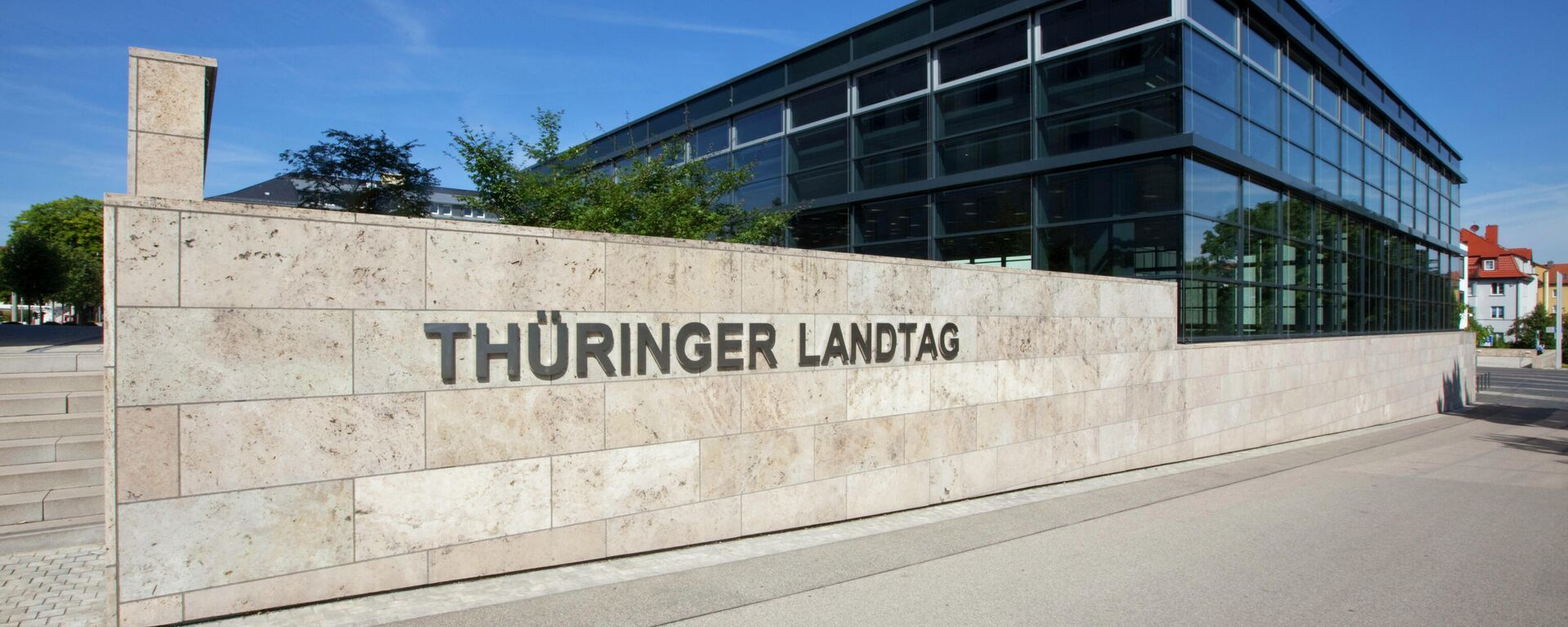 Thüringer Landtag in Erfurt - SNA, 1920, 26.07.2021