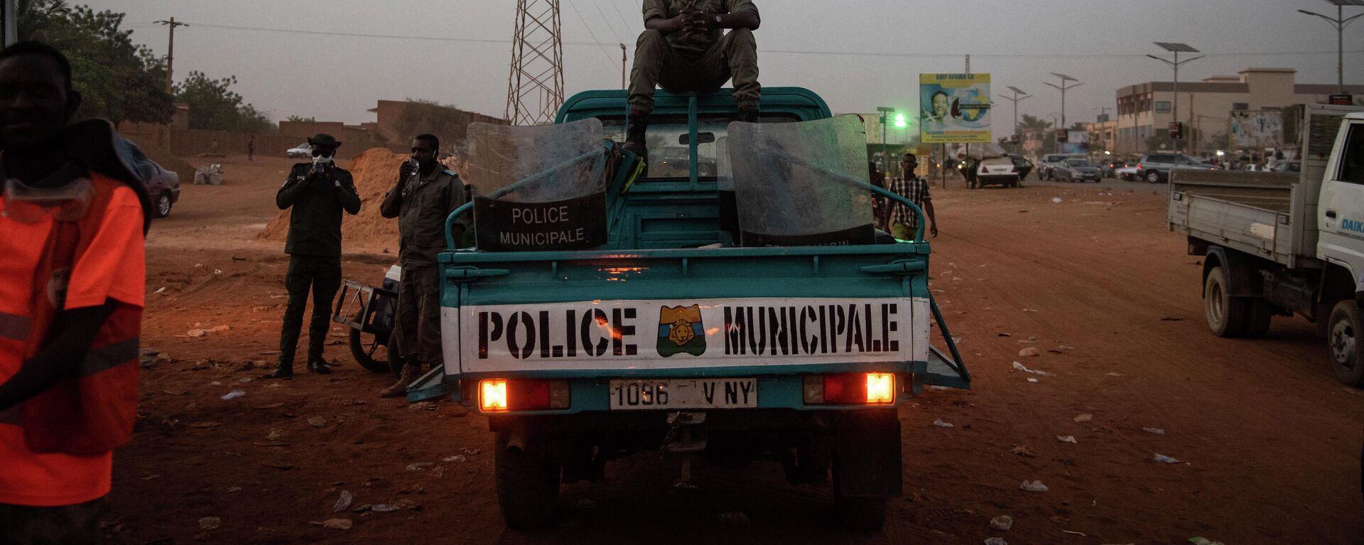 Polizei im Niger - SNA, 1920, 23.03.2021