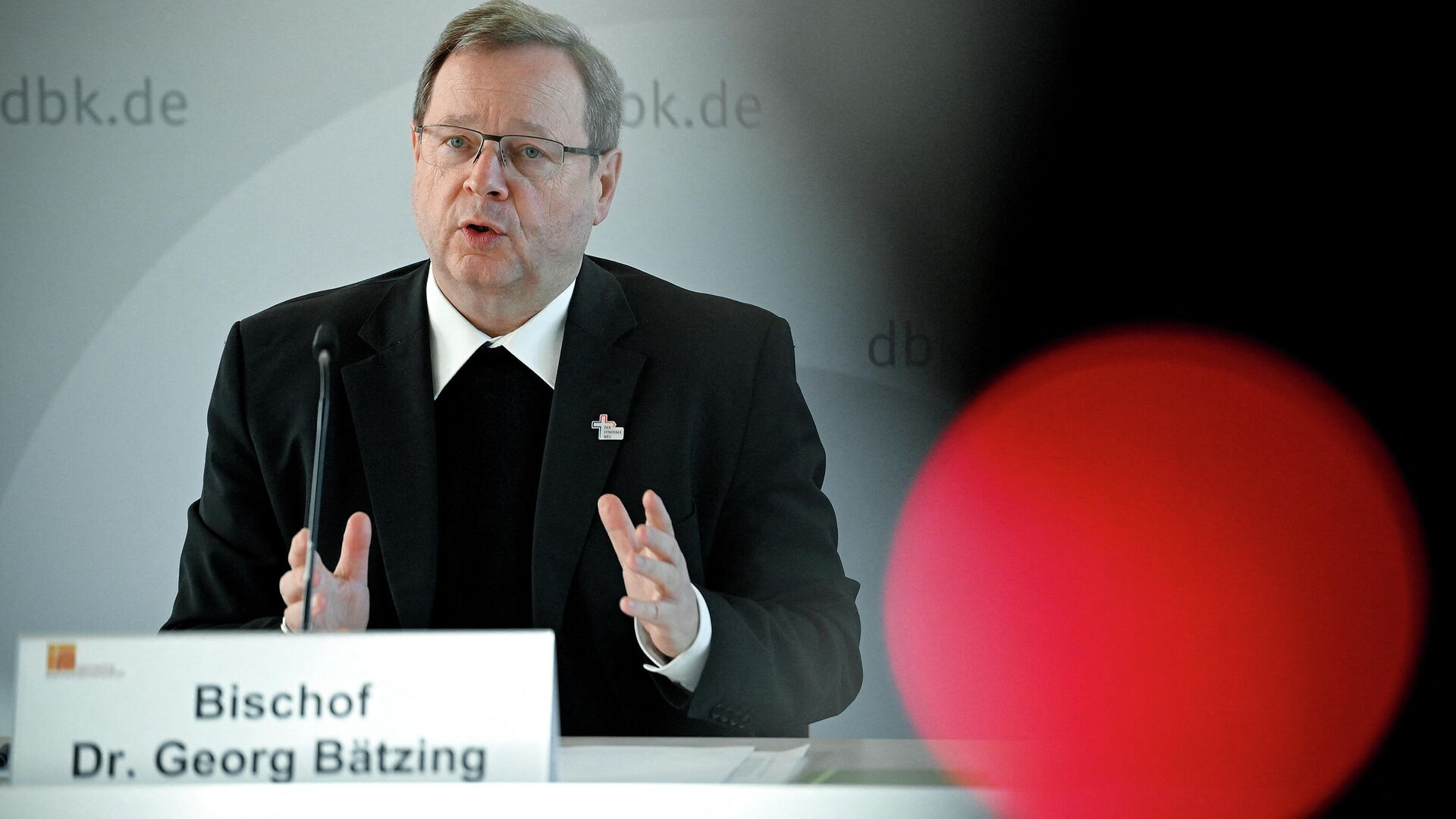 Vorsitzende der Deutschen Bischofskonferenz, Georg Bätzing - SNA, 1920, 23.03.2021