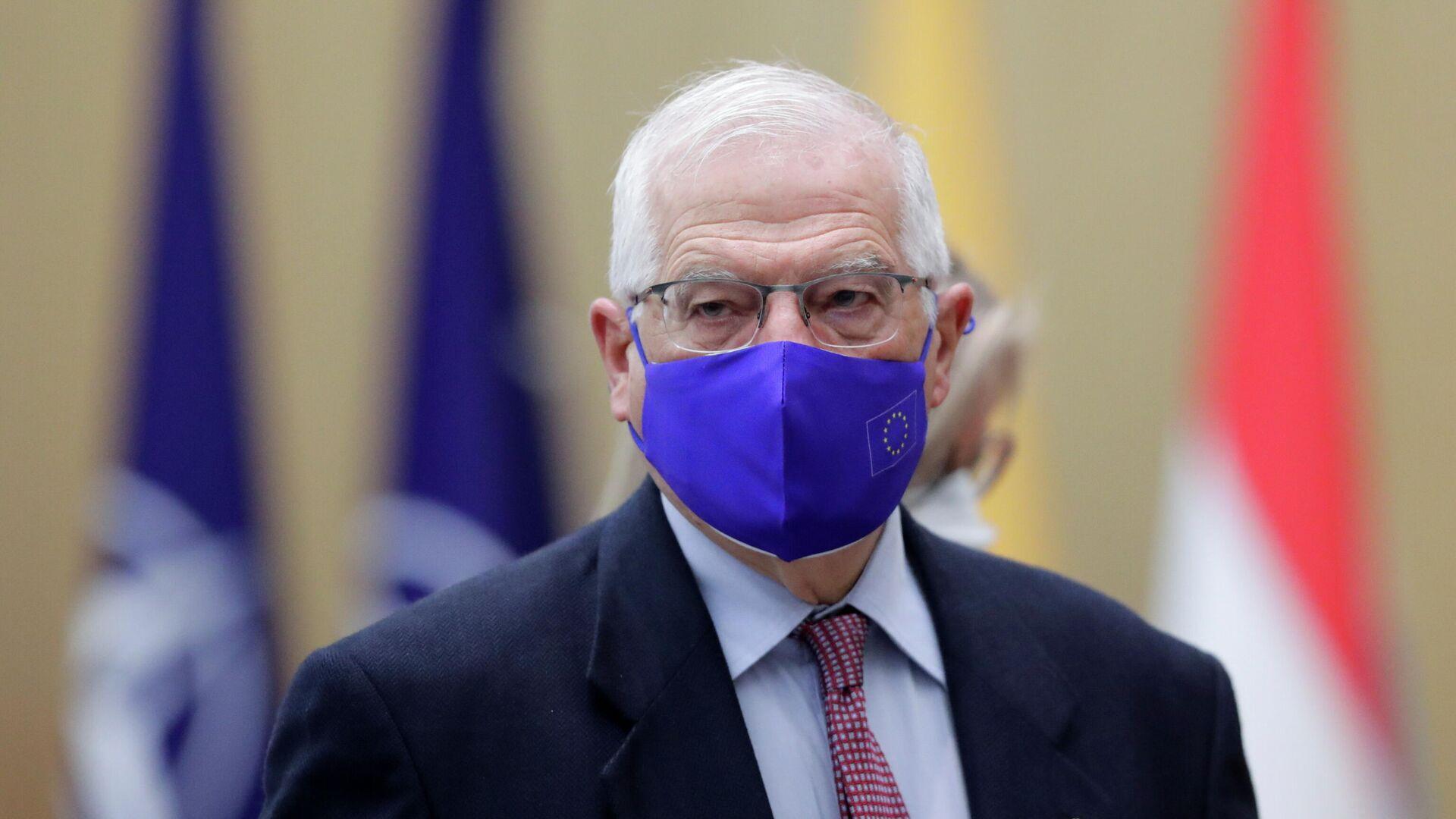 EU-Außenbeauftragter Josep Borrell - SNA, 1920, 24.03.2021