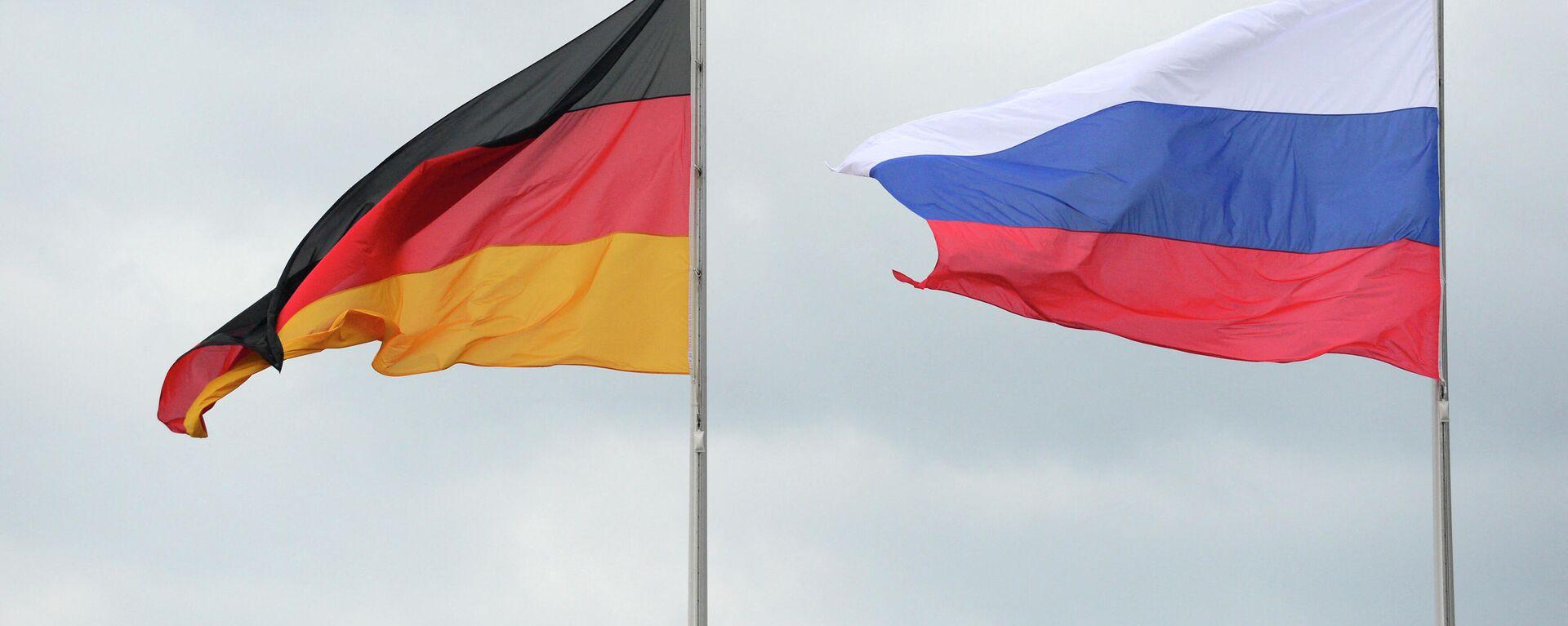 Flaggen Russlands und Deutschlands (Symbolbild) - SNA, 1920, 18.05.2021
