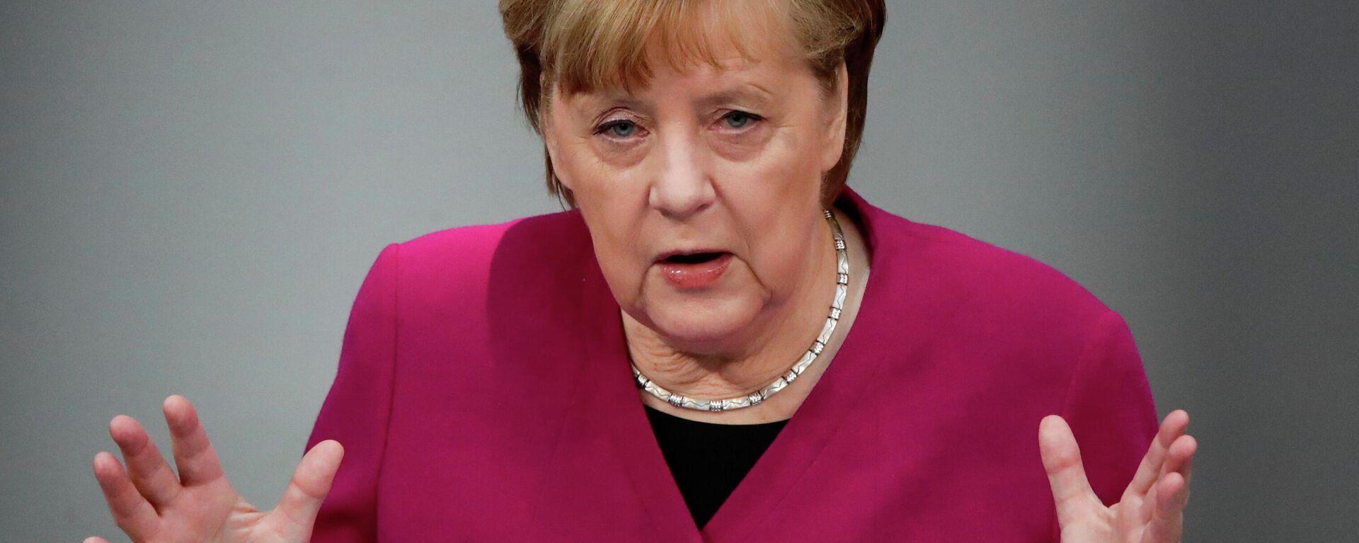 Bundeskanzlerin Angela Merkel - SNA, 1920, 28.03.2021