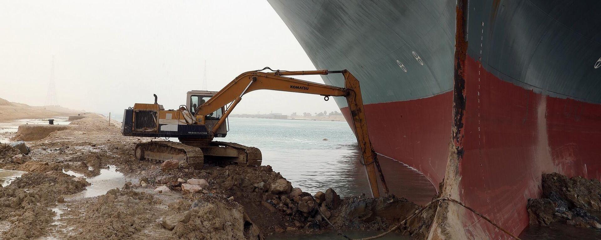 Havarie im Suezkanal - SNA, 1920, 29.03.2021