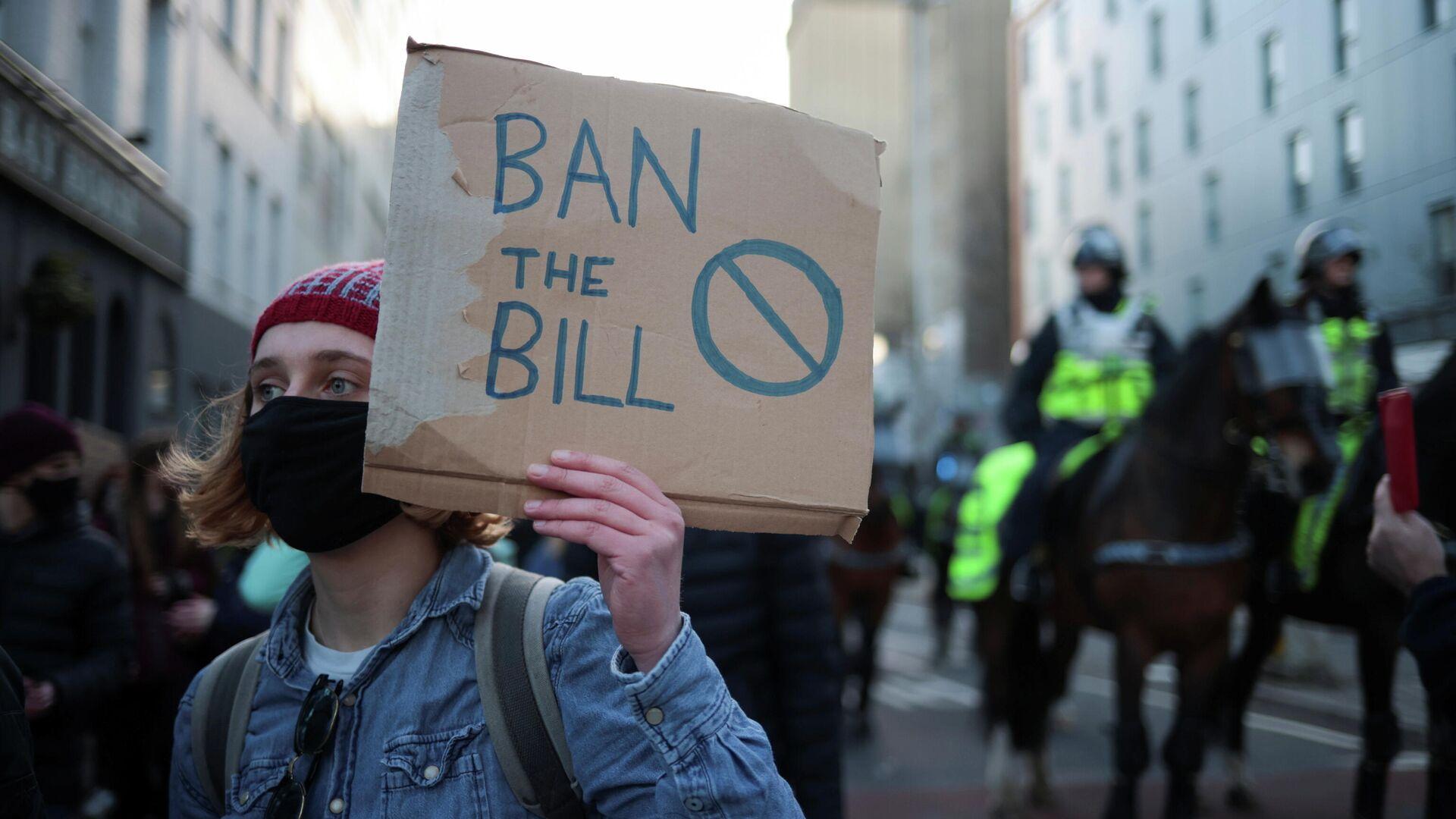 Proteste in Bristol, 26. März 2021 - SNA, 1920, 26.03.2021