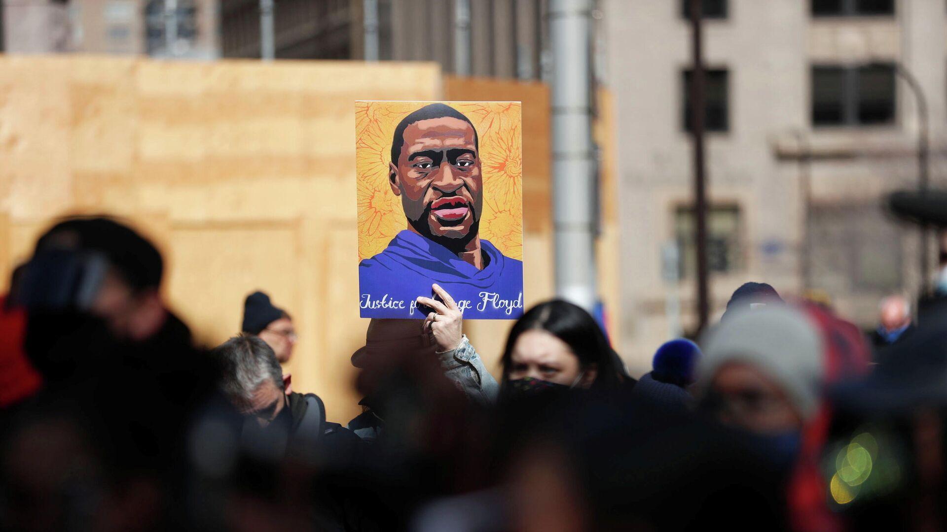 Floyd-Proteste in Minneapolis, 28. März 2021 - SNA, 1920, 19.04.2021
