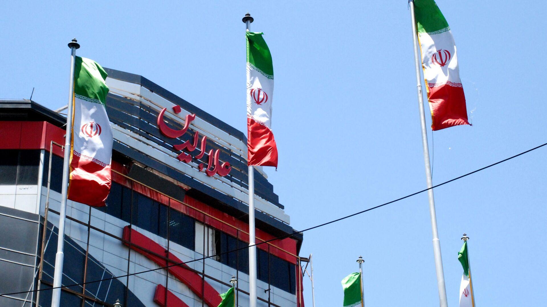 Iranische Flaggen in Teheran - SNA, 1920, 30.09.2021