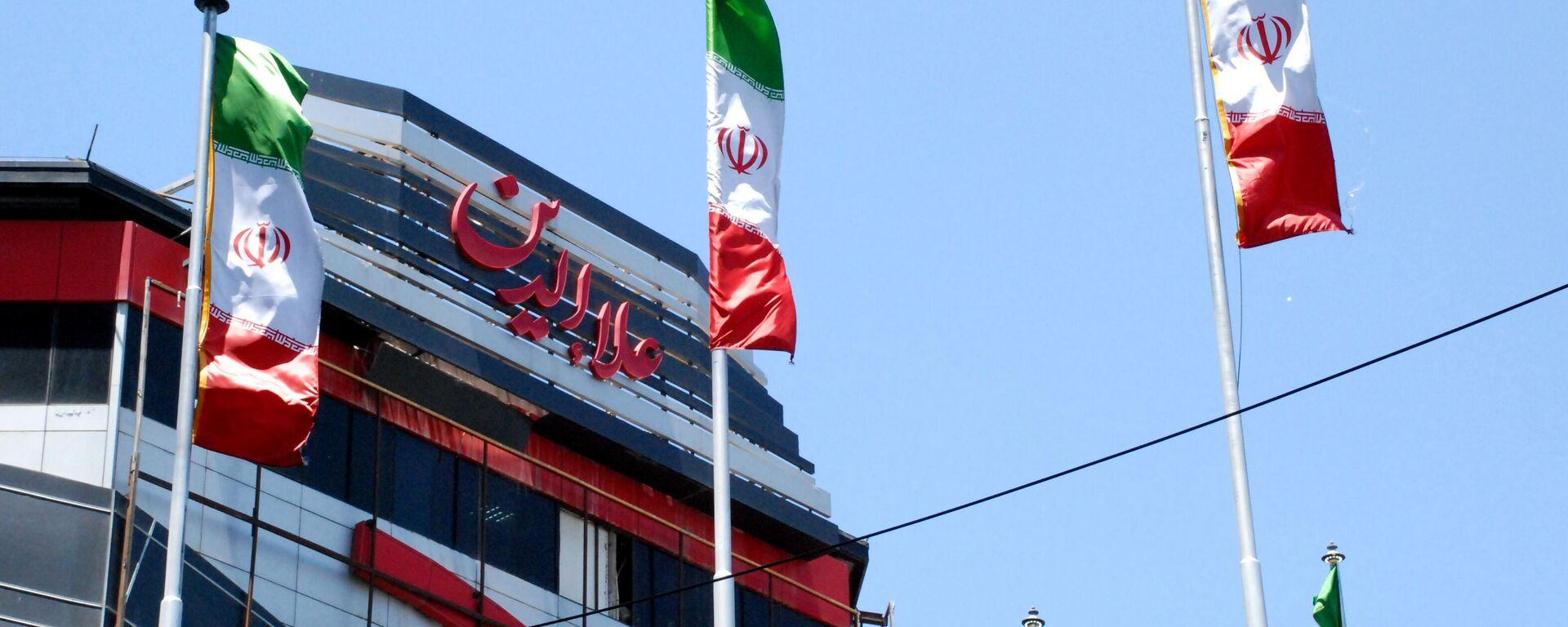 Iranische Flaggen in Teheran - SNA, 1920, 02.04.2021