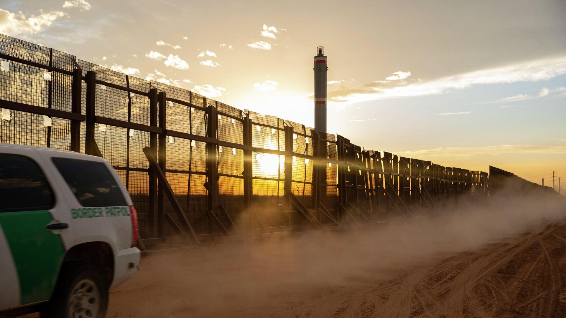 Grenzmauer zwischen den USA und Mexiko - SNA, 1920, 01.04.2021