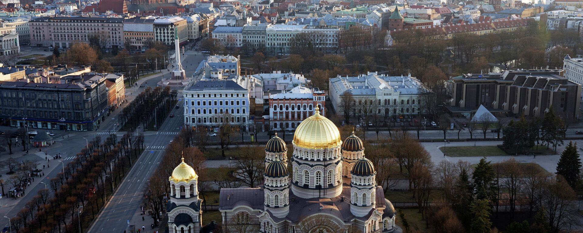 Lettlands Hauptstadt Riga - SNA, 1920, 01.04.2021