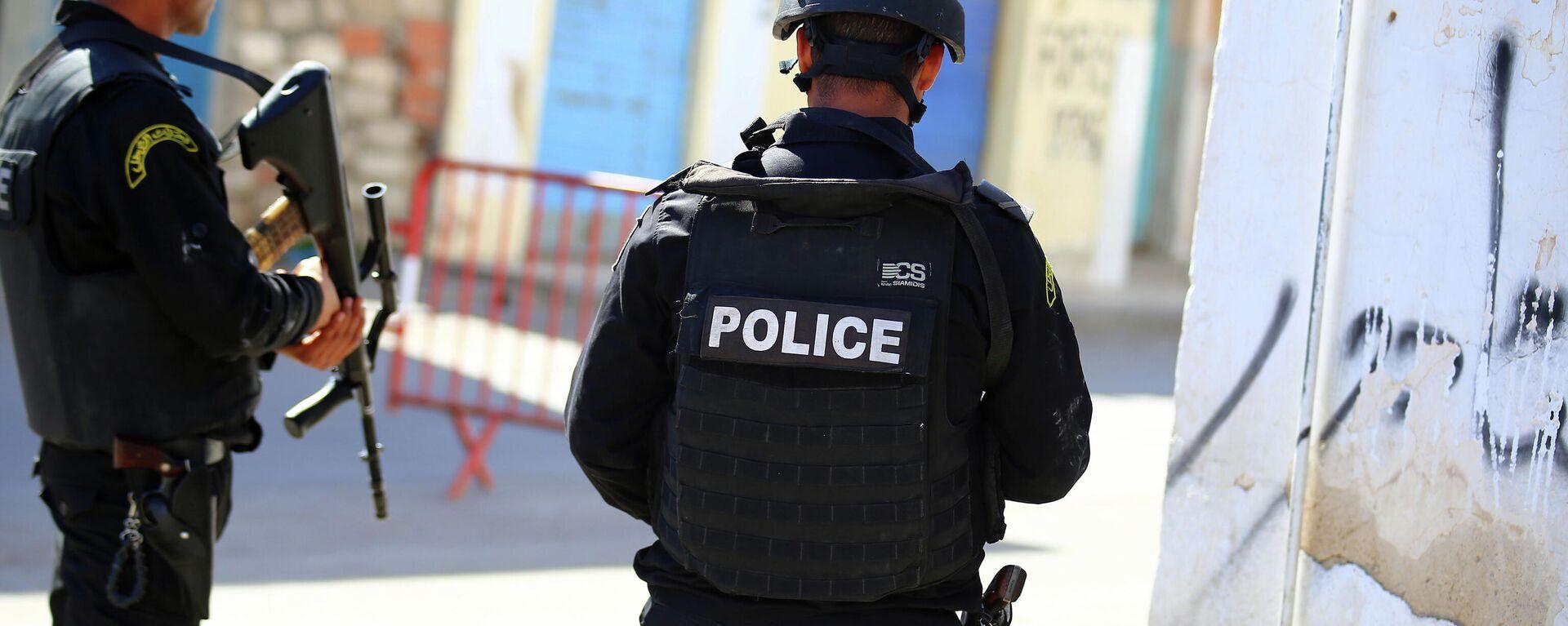 Polizei in Tunesien - SNA, 1920, 02.04.2021