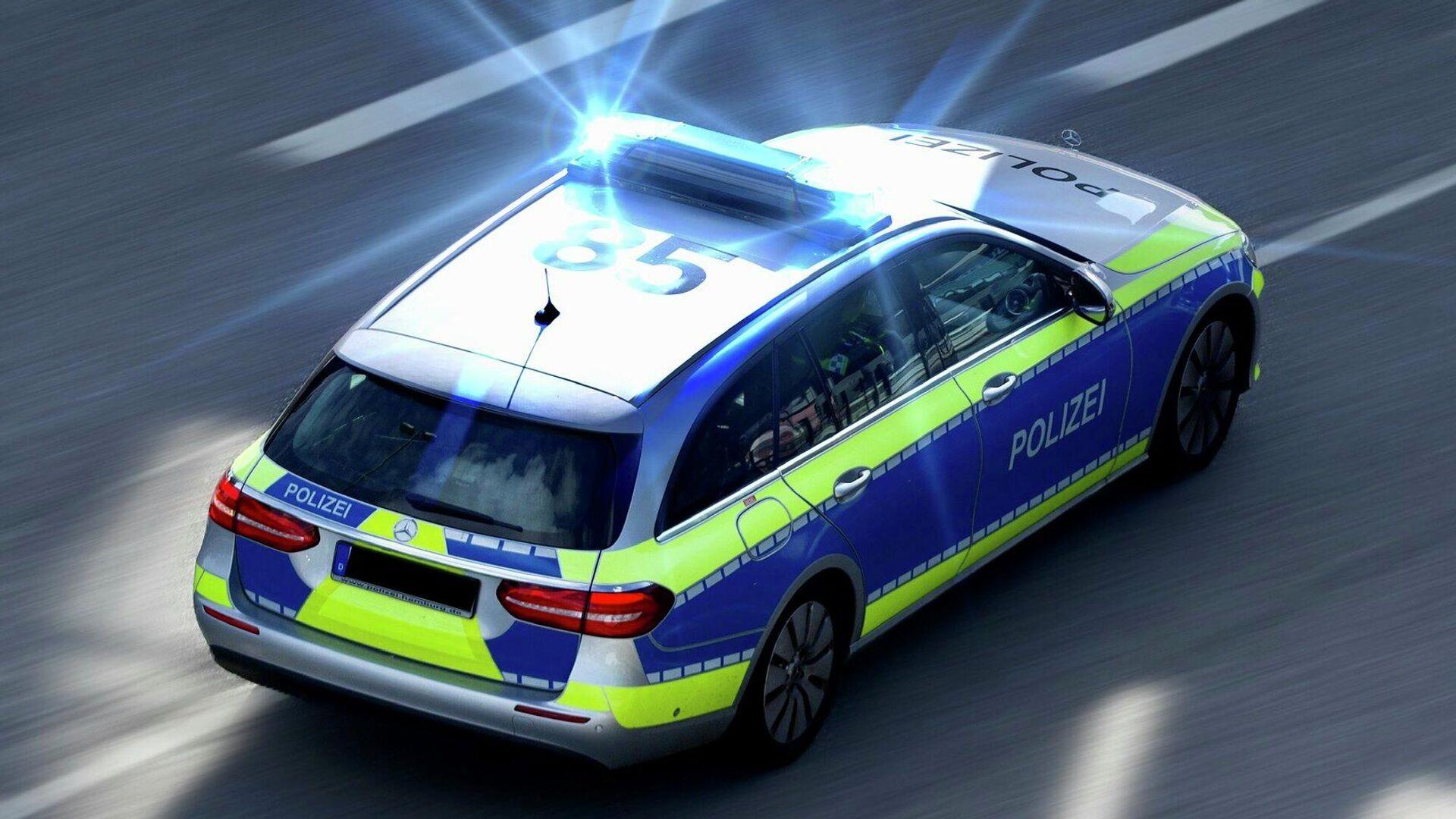 Polizeieinsatz in Deutschland (Symbolbild) - SNA, 1920, 12.07.2021
