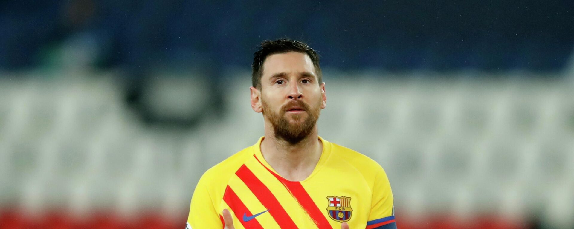 Lionel Messi bei Champions League - SNA, 1920, 06.08.2021
