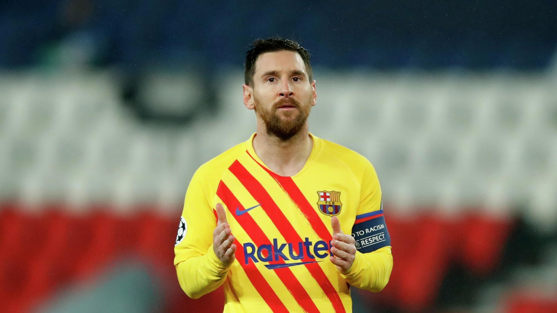 Lionel Messi bei Champions League - SNA, 1920, 03.09.2021