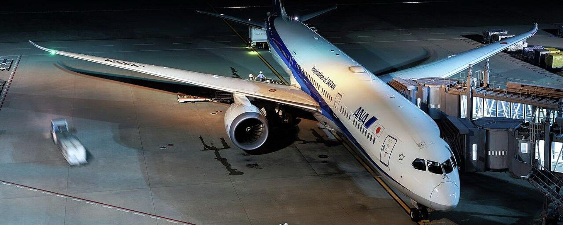 Boeing 787-9 der japanischen Fluggesellschaft All Nippon Airways (Archivbild) - SNA, 1920, 15.06.2021