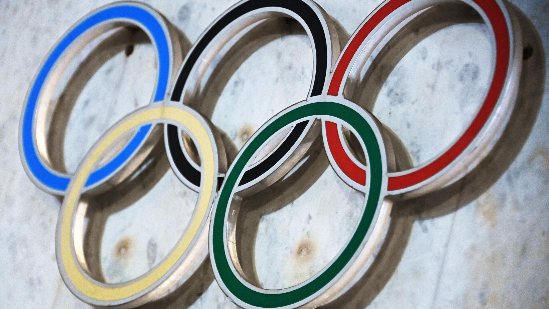 Olympische Ringe (Symbolbild) - SNA, 1920, 20.07.2021