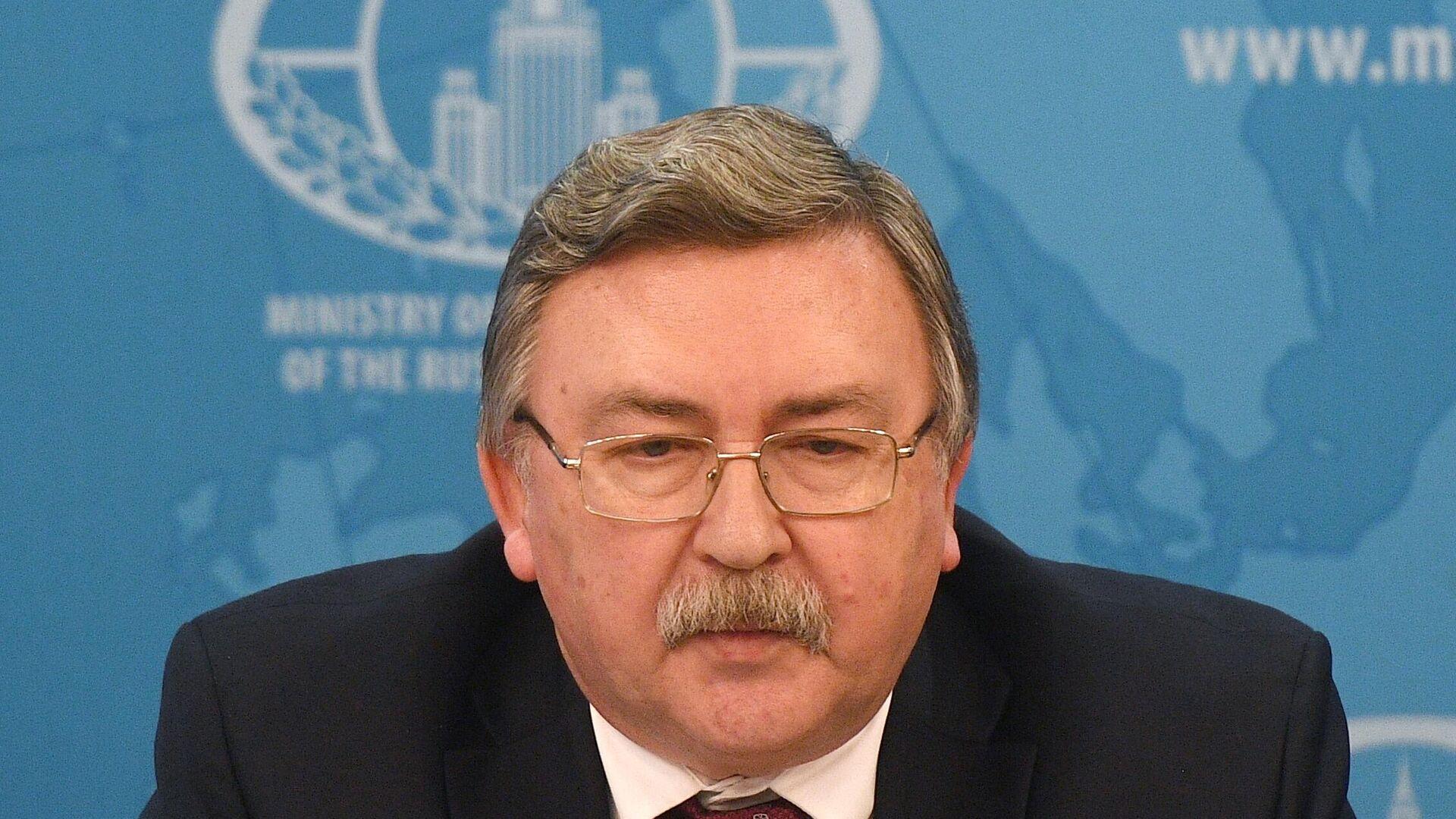 Michail Uljanow, Russlands Chefunterhändler bei Iran-Gesprächen in Wien (Archiv) - SNA, 1920, 06.04.2021