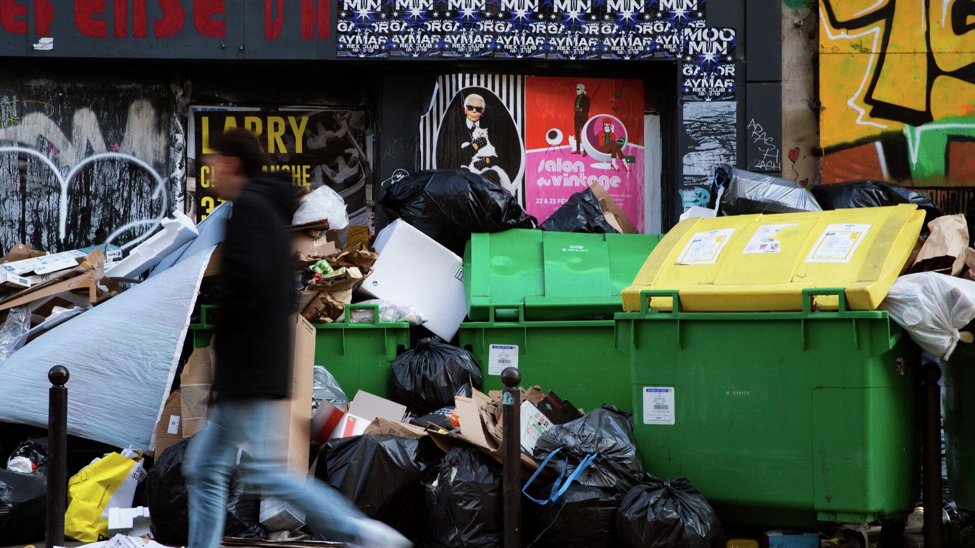 Müll in Paris  - SNA, 1920, 07.04.2021