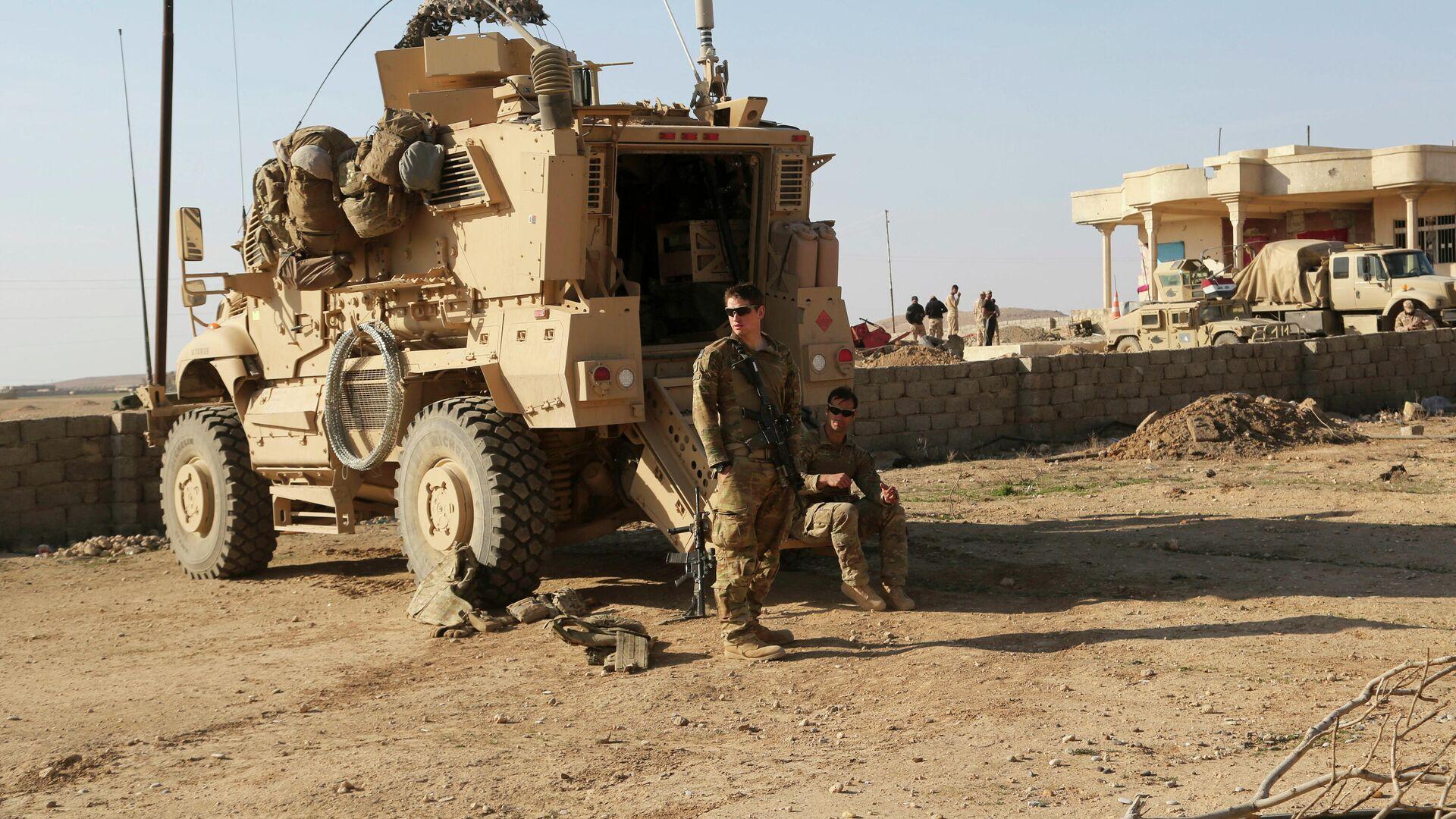 US-Streitkräfte im Irak  - SNA, 1920, 07.04.2021