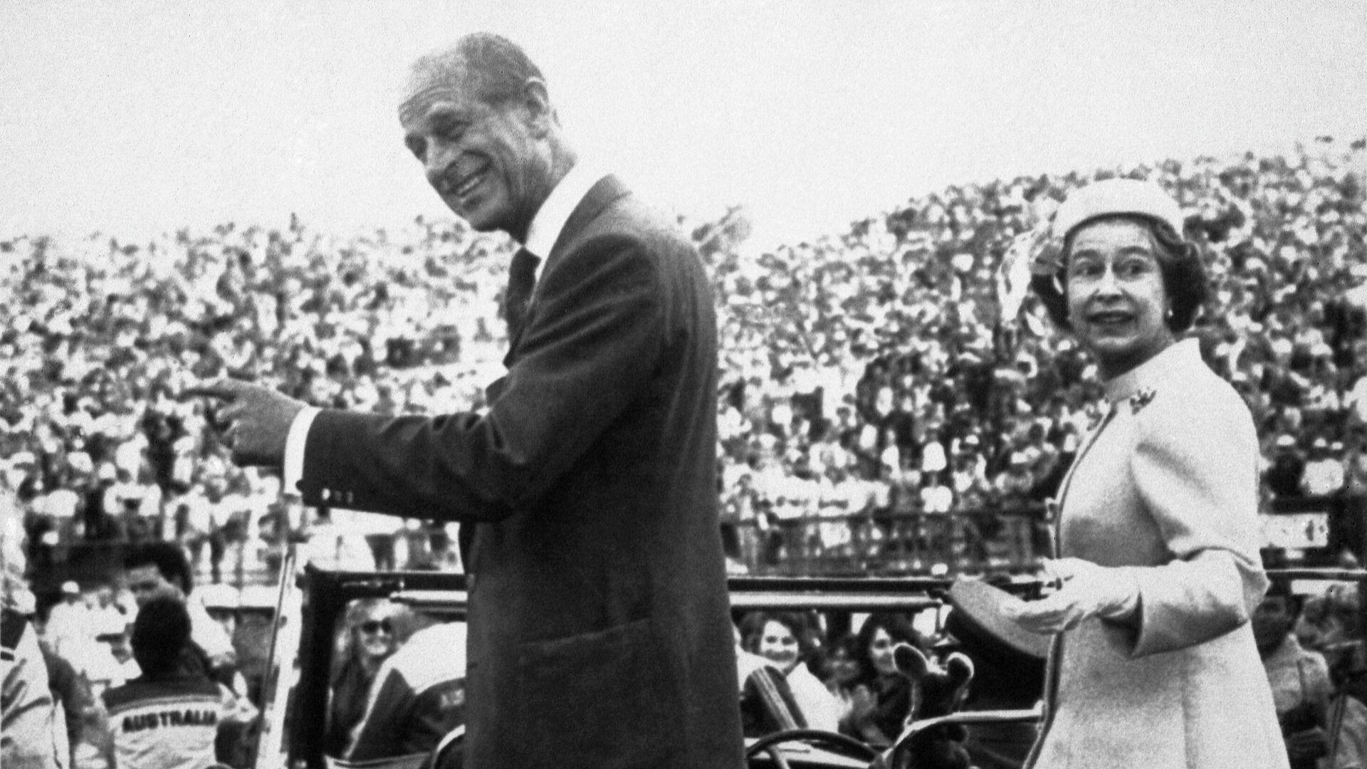 Prinz Philip und Elizabeth II. in Australien (Archivbild) - SNA, 1920, 09.04.2021