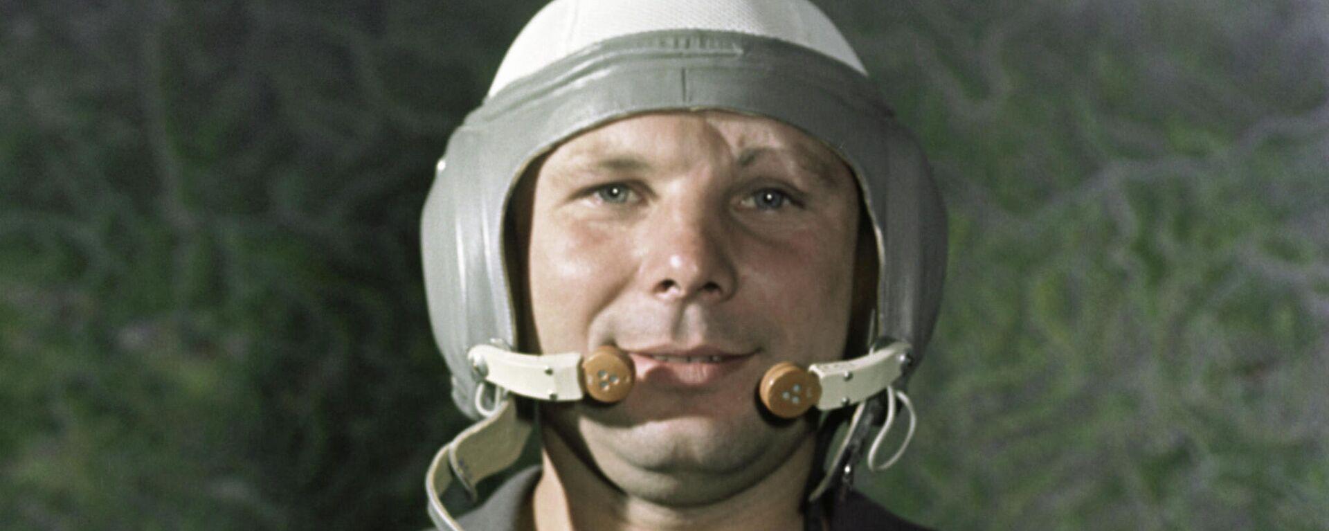 Der erste Kosmonaut der Welt Juri Gagarin - SNA, 1920, 12.04.2021