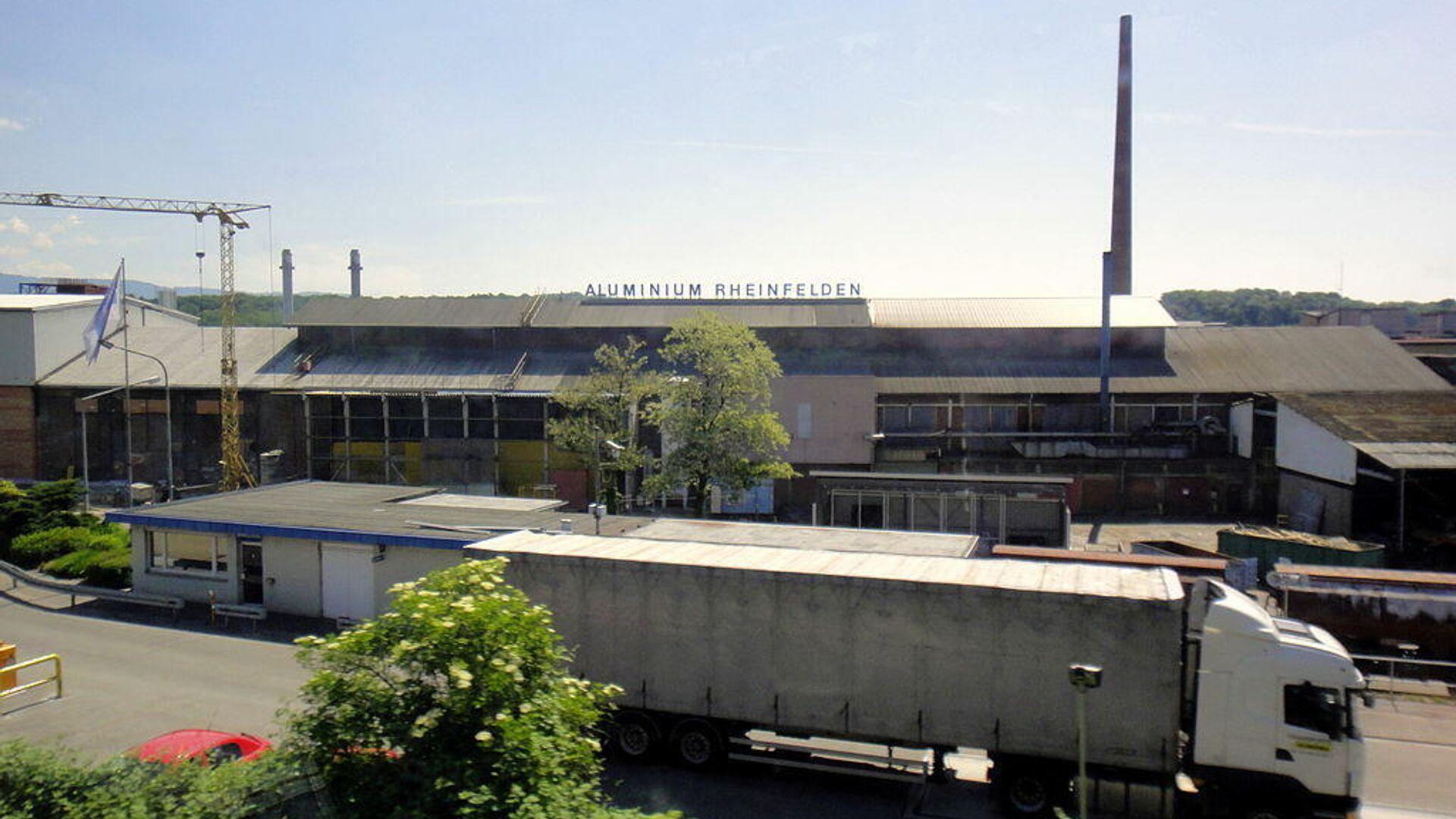 Fabrik von Aluminium Rheinfelden (Archivbild) - SNA, 1920, 12.04.2021