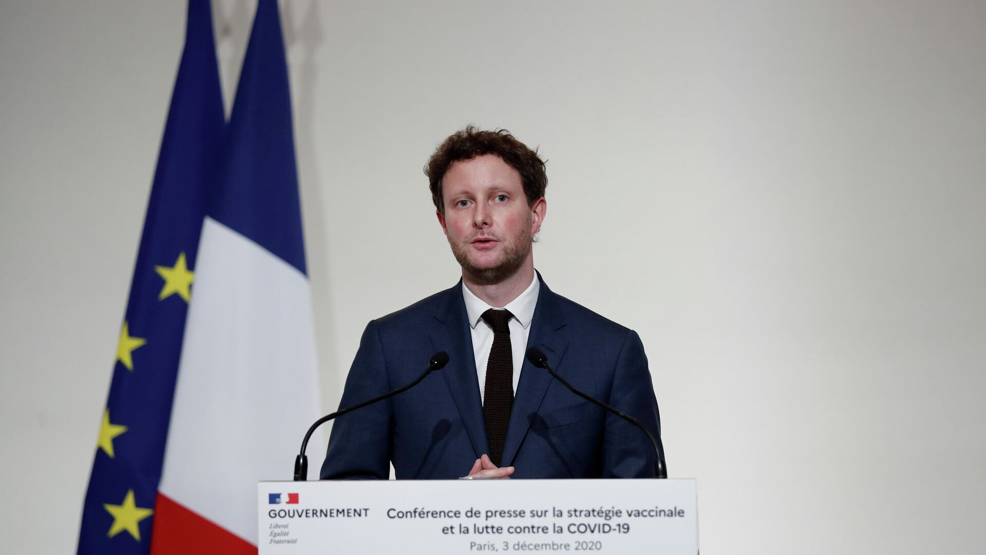 Clément Beaune, Staatssekretär für europäische Angelegenheiten beim französischen Außenamt (Archiv) - SNA, 1920, 13.04.2021