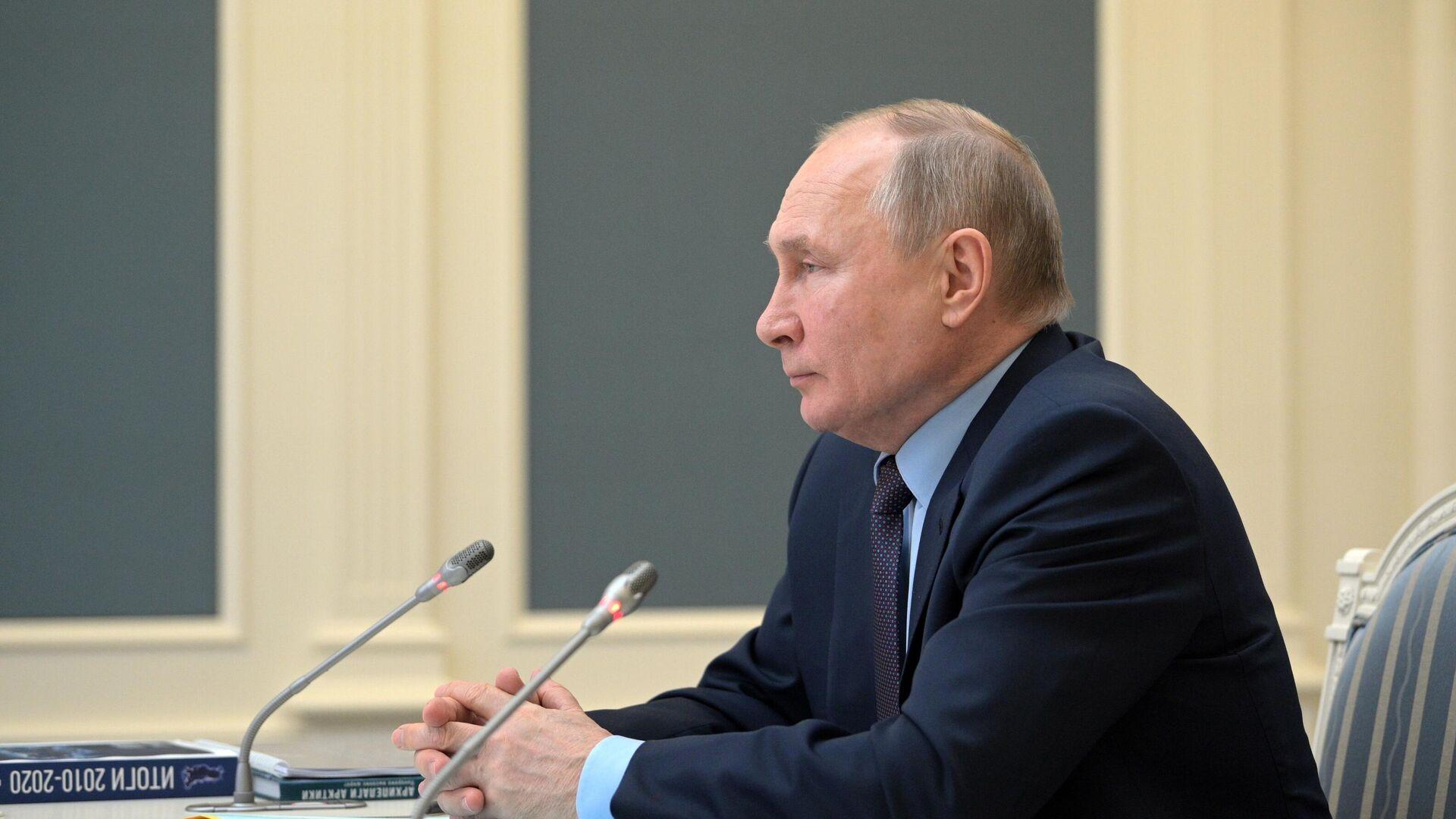 Russlands Präsident Wladimir Putin am 14. April - SNA, 1920, 14.04.2021