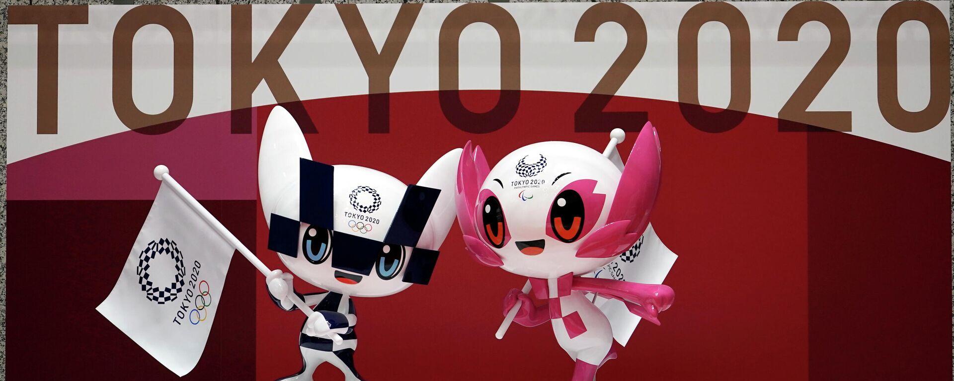 Maskottchen der Olympischen Sommerspielen in Tokio 2020 - SNA, 1920, 14.04.2021
