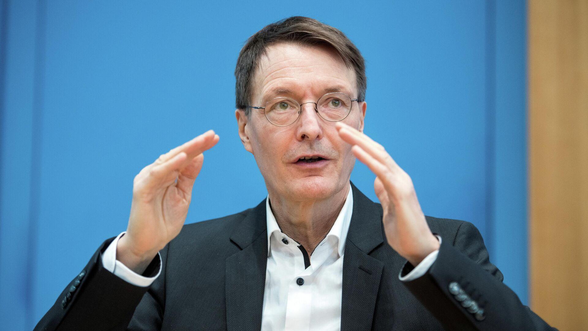 SPD-Politiker Karl Lauterbach - SNA, 1920, 15.04.2021
