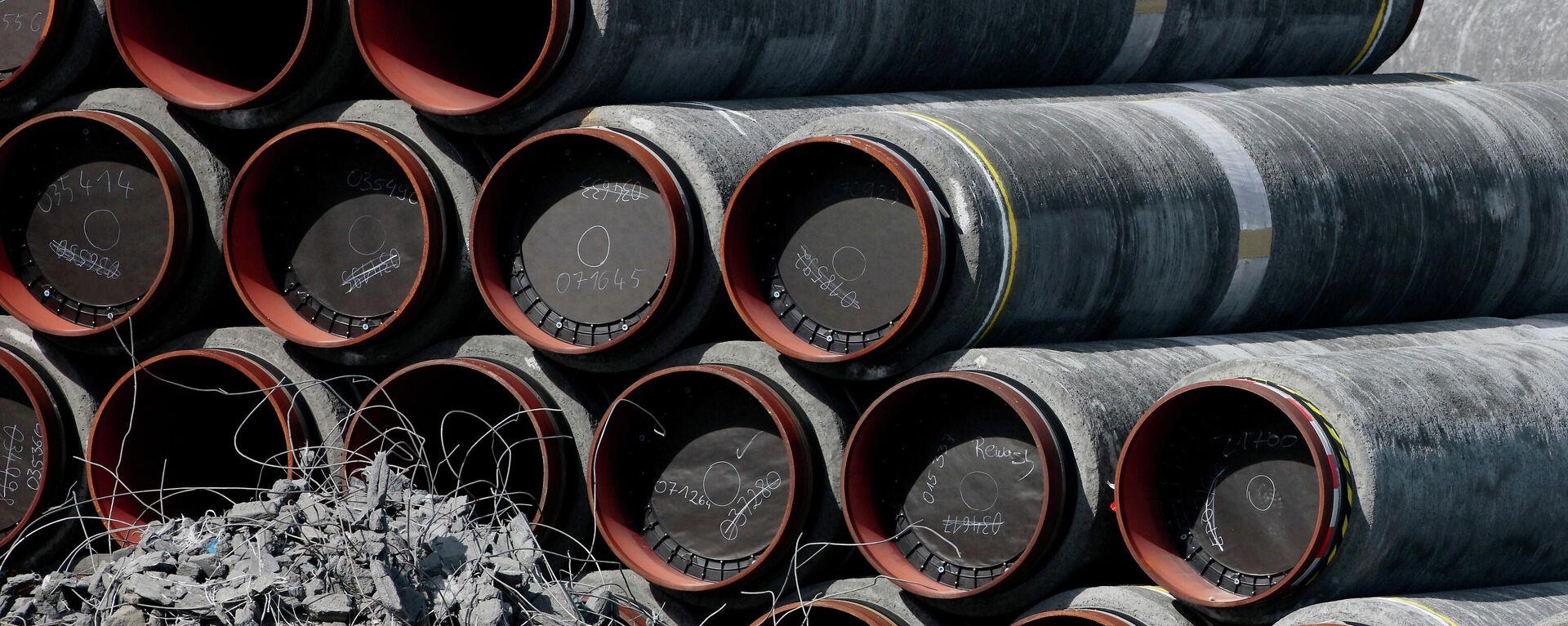 Bauarbeiten an der Gaspipeline Nord Stream 2 - SNA, 1920, 03.05.2021