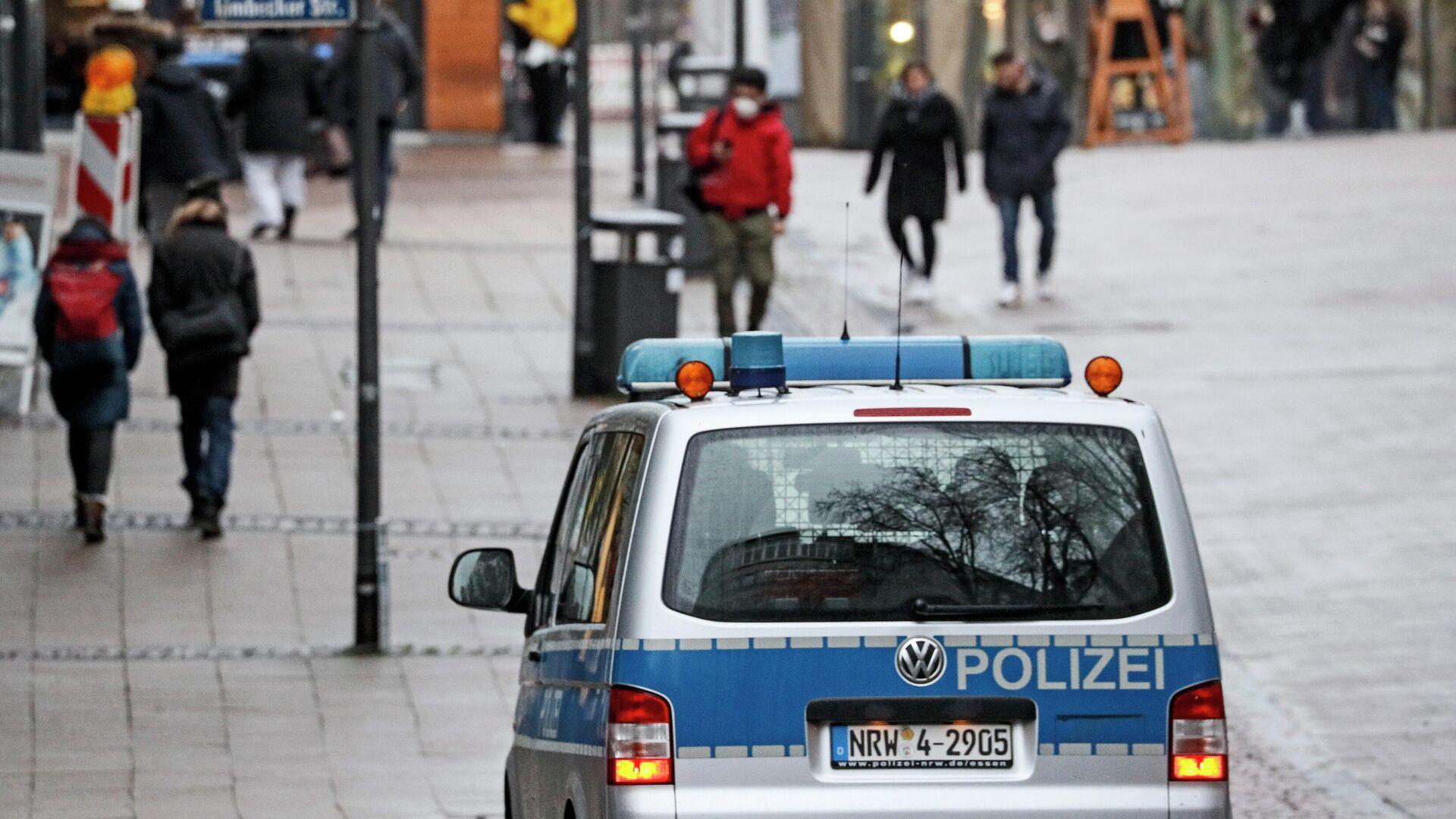 Ein Polizeiauto in Essen - SNA, 1920, 12.08.2021