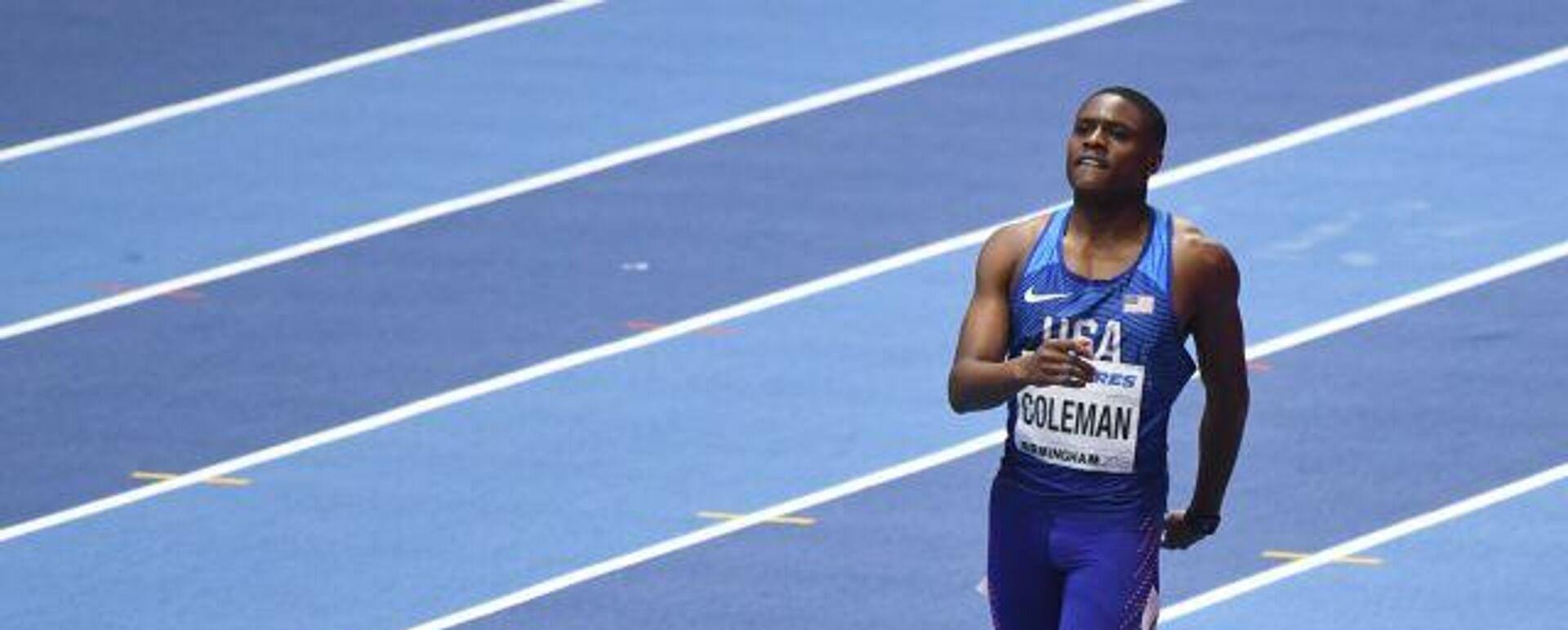 US-Sprintweltmeister Christian Coleman - SNA, 1920, 16.04.2021
