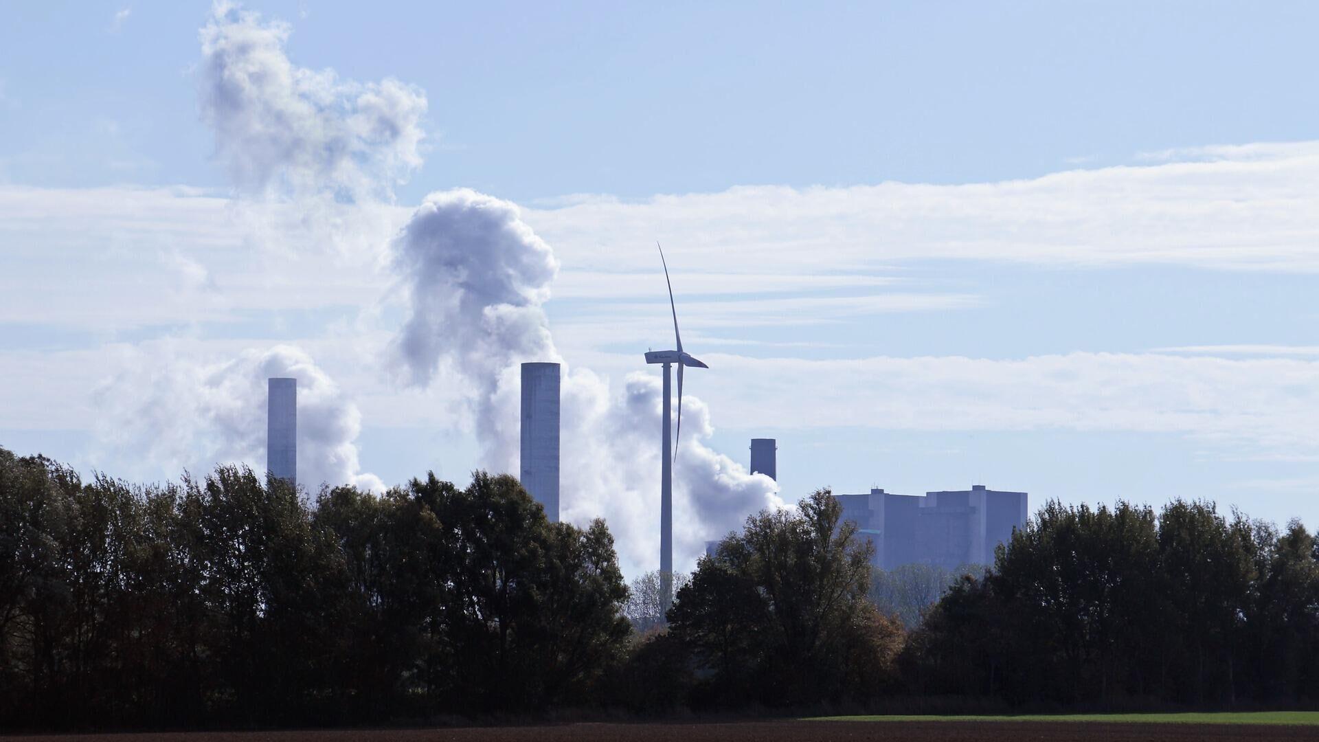 Kohlekraftwerk, Symbolbild - SNA, 1920, 22.09.2021