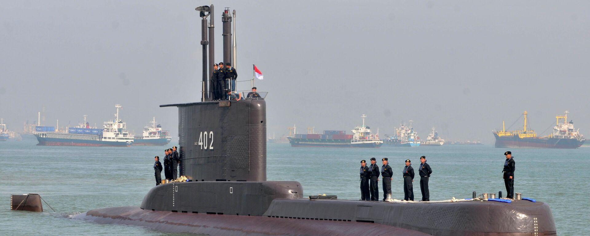 Das indonesische U-Boot Nanggala (Archivbild) - SNA, 1920, 21.04.2021
