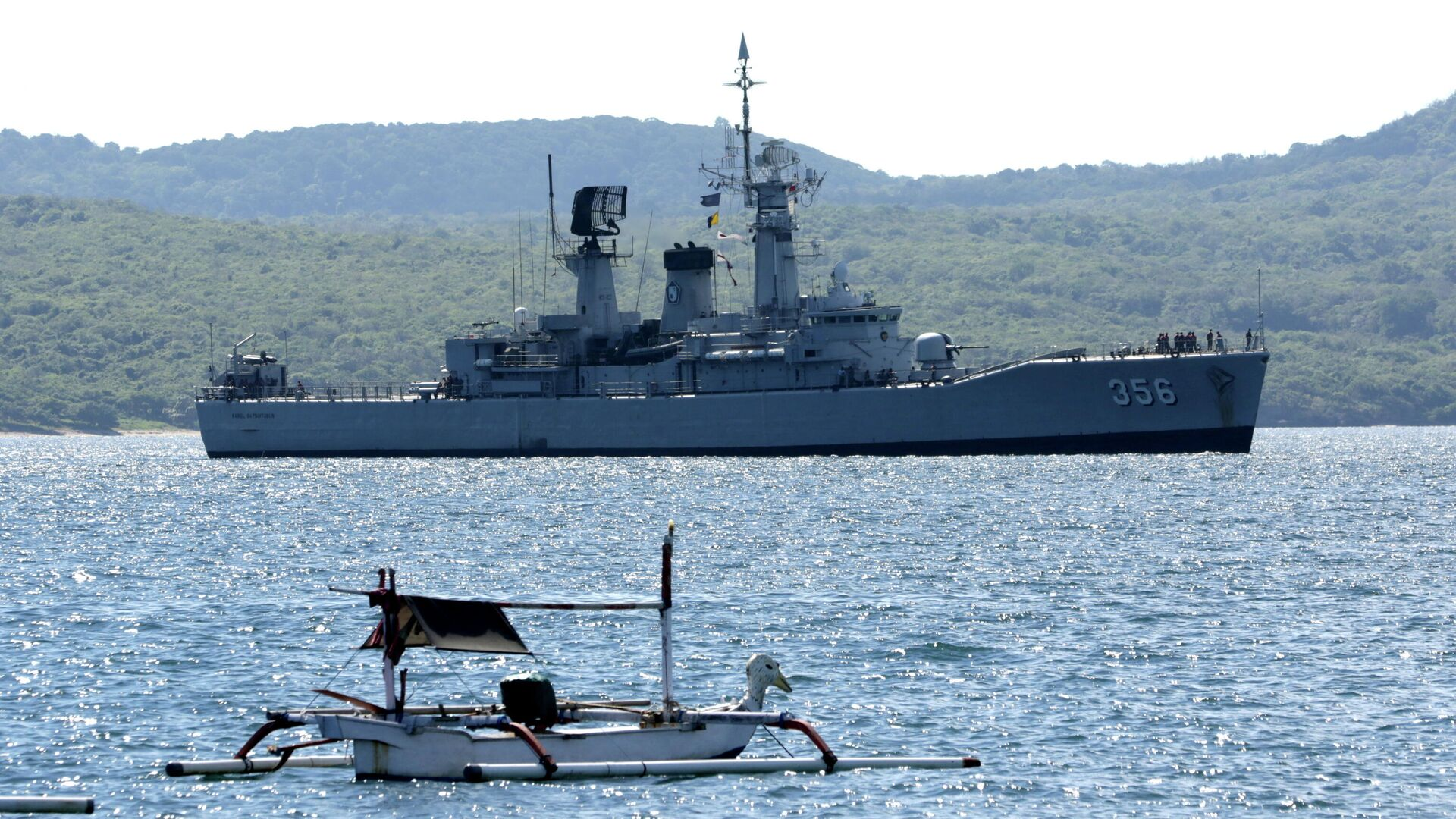 Bergungsarbeiten am Ort des Unfalls mit dem indonesischen U-Boot - SNA, 1920, 22.04.2021