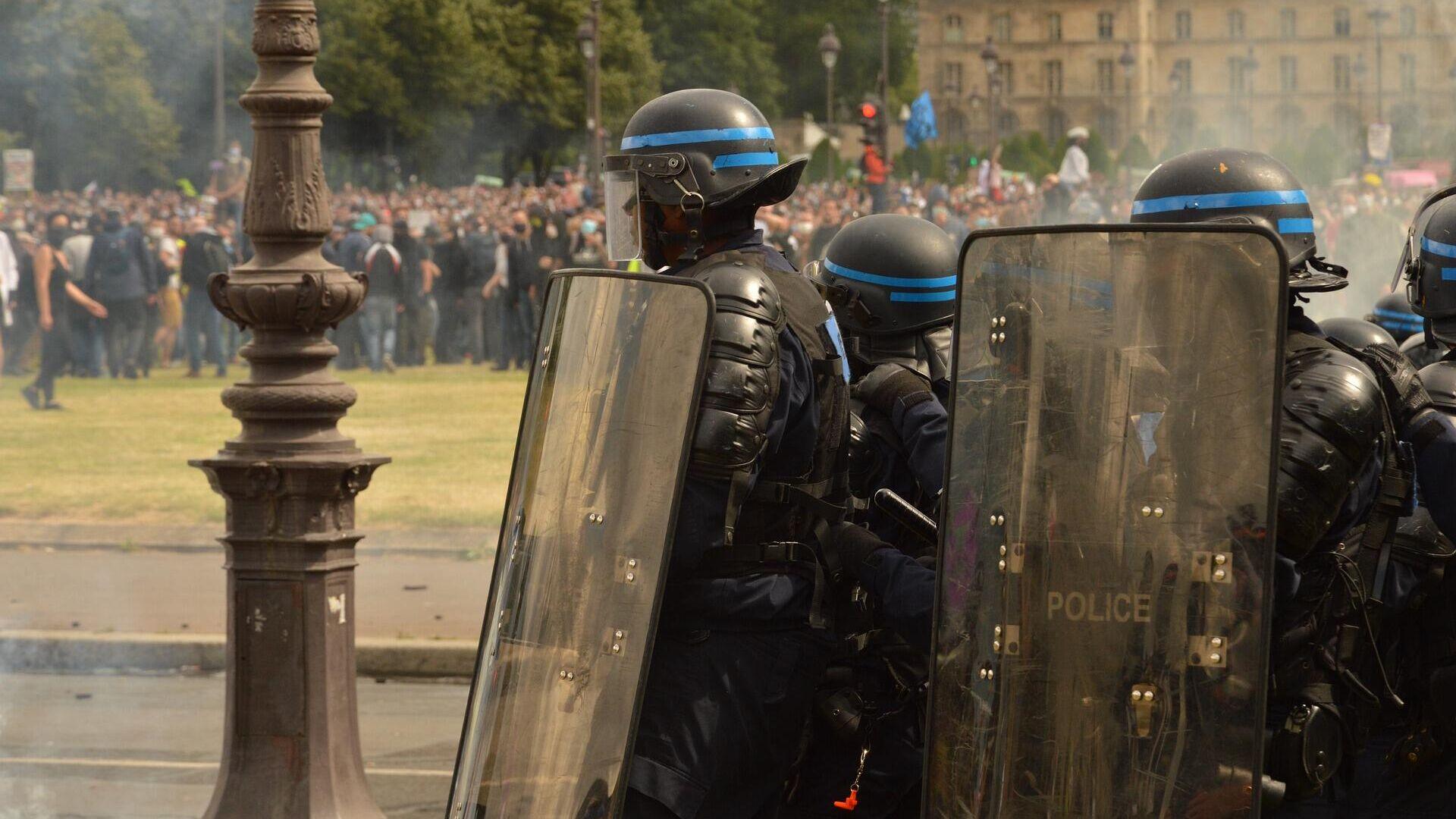 Polizei in Frankreich (Symbolbild) - SNA, 1920, 23.04.2021