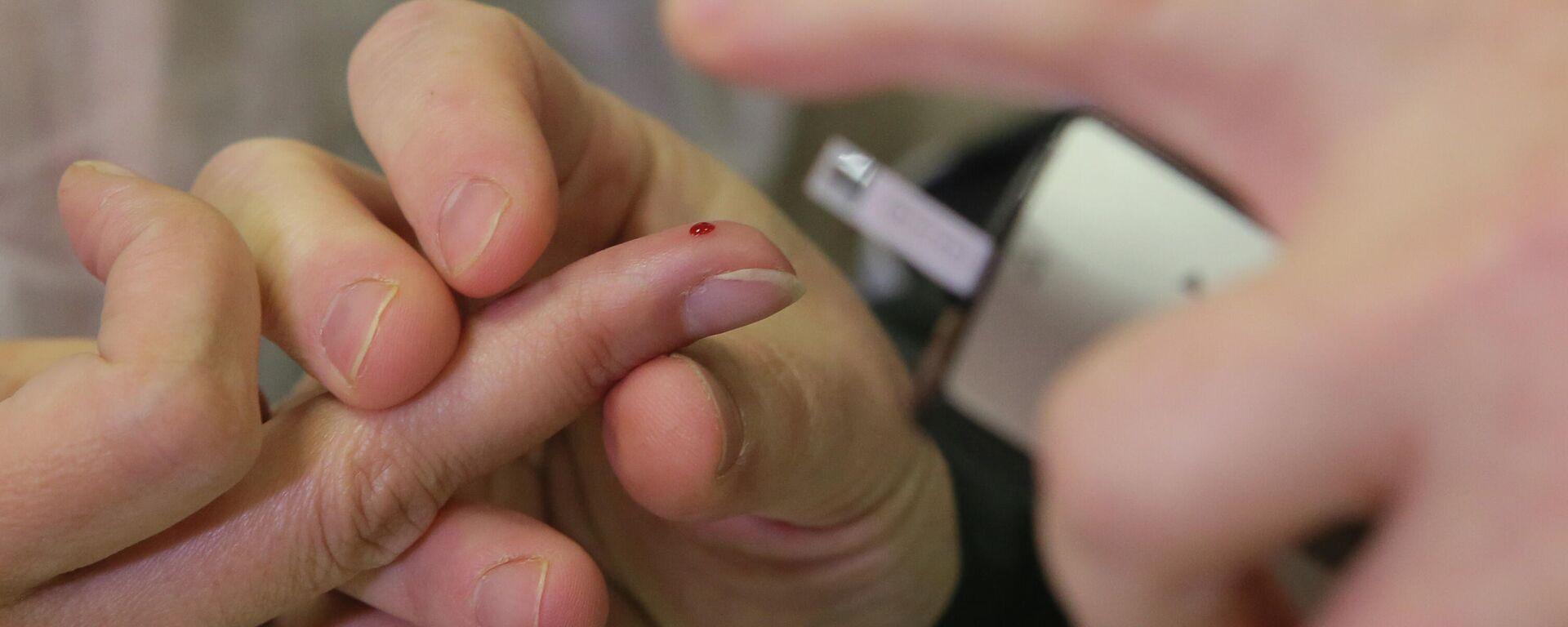 Diabetes-Test - SNA, 1920, 27.04.2021